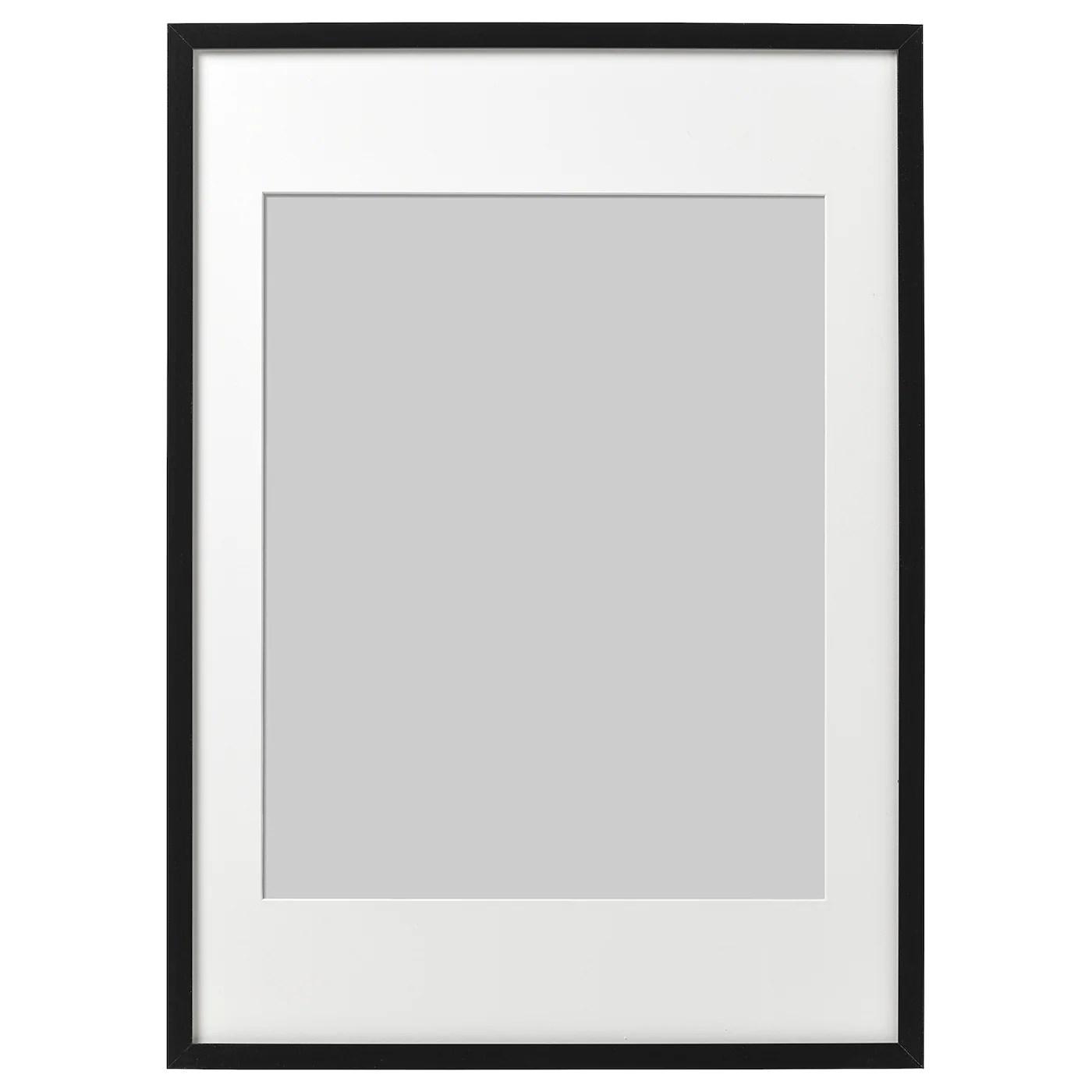 ribba frame black 19 x27 50x70 cm