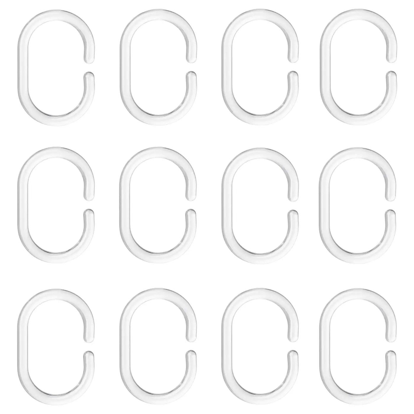 Ringsjon Shower Curtain Ring Transparent