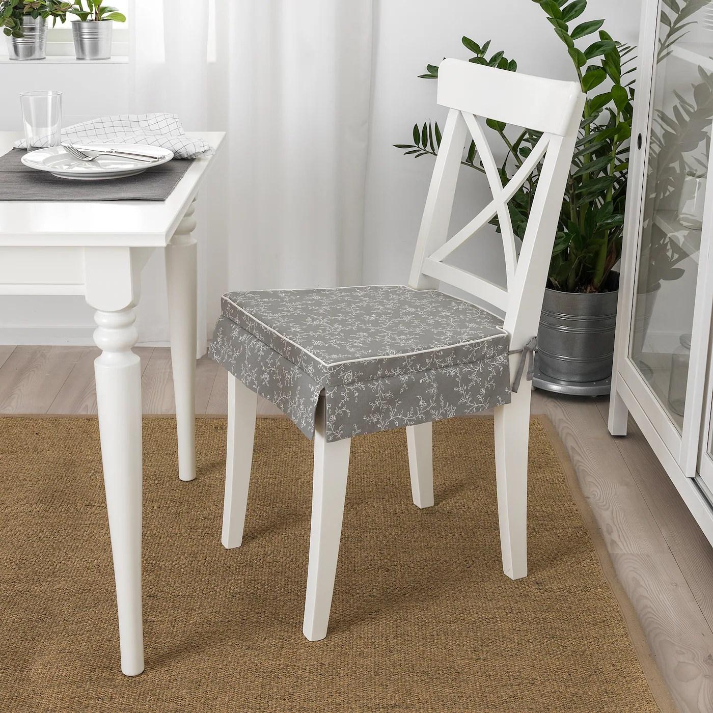 elsebet coussin de chaise gris 17x17x2 43x42x4 0 cm