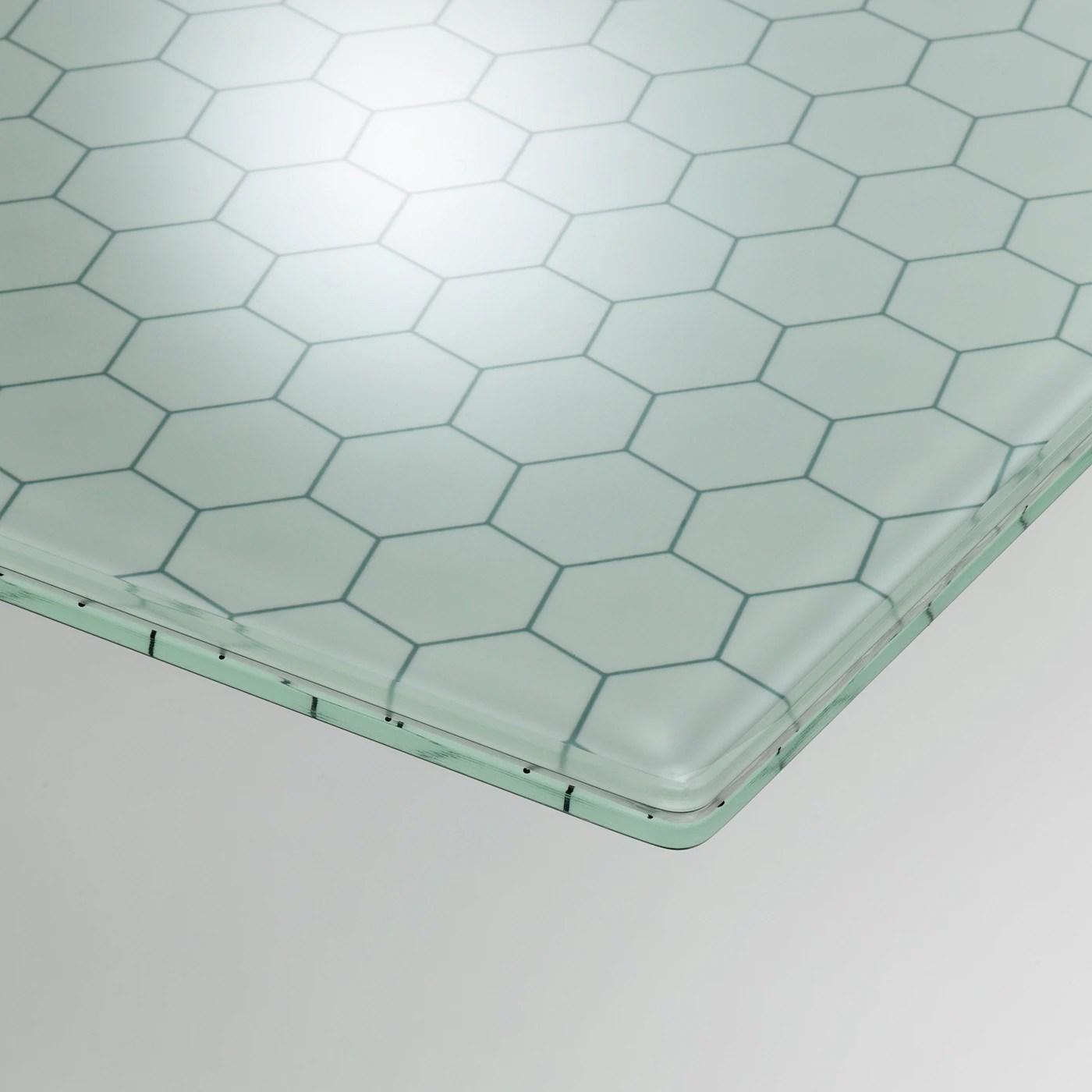 Glasholm Plateau De Table Verre Motif Nid D Abeille 58 1 4x28 3 4 Site Web Officiel Ikea