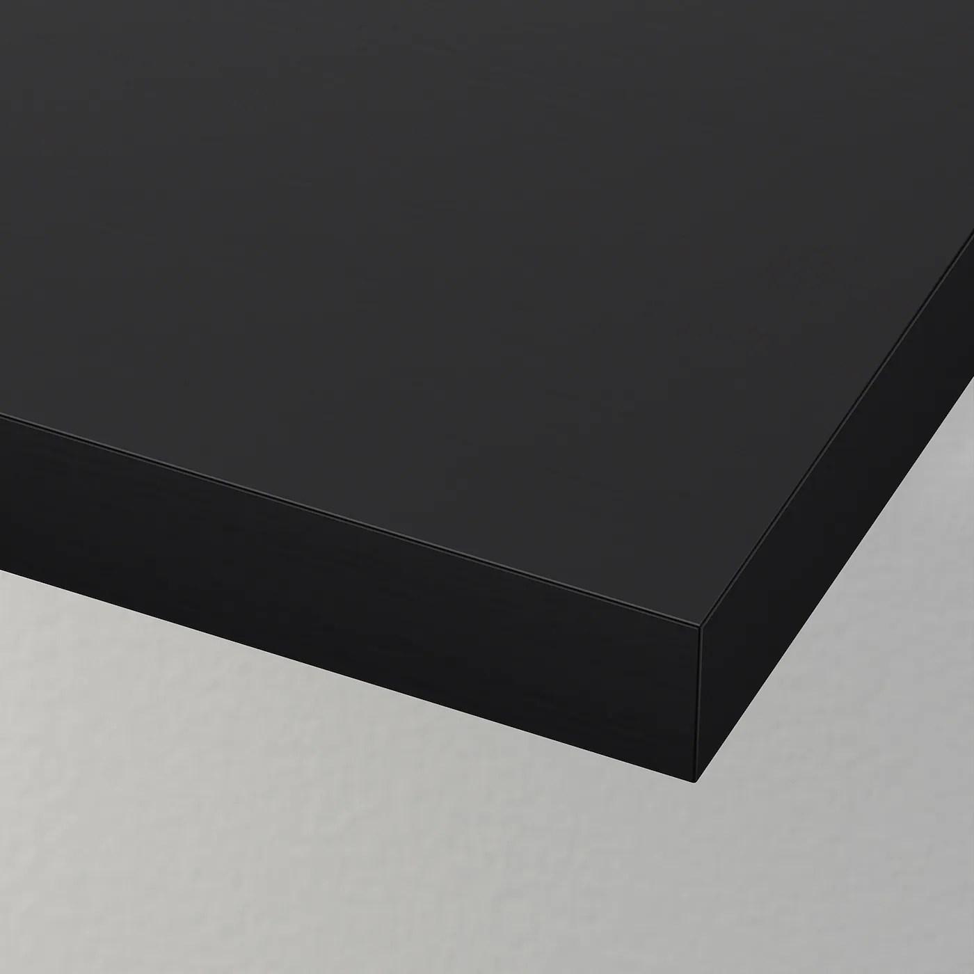 lack etagere murale brun noir 74 3 4x10 1 4 190x26 cm