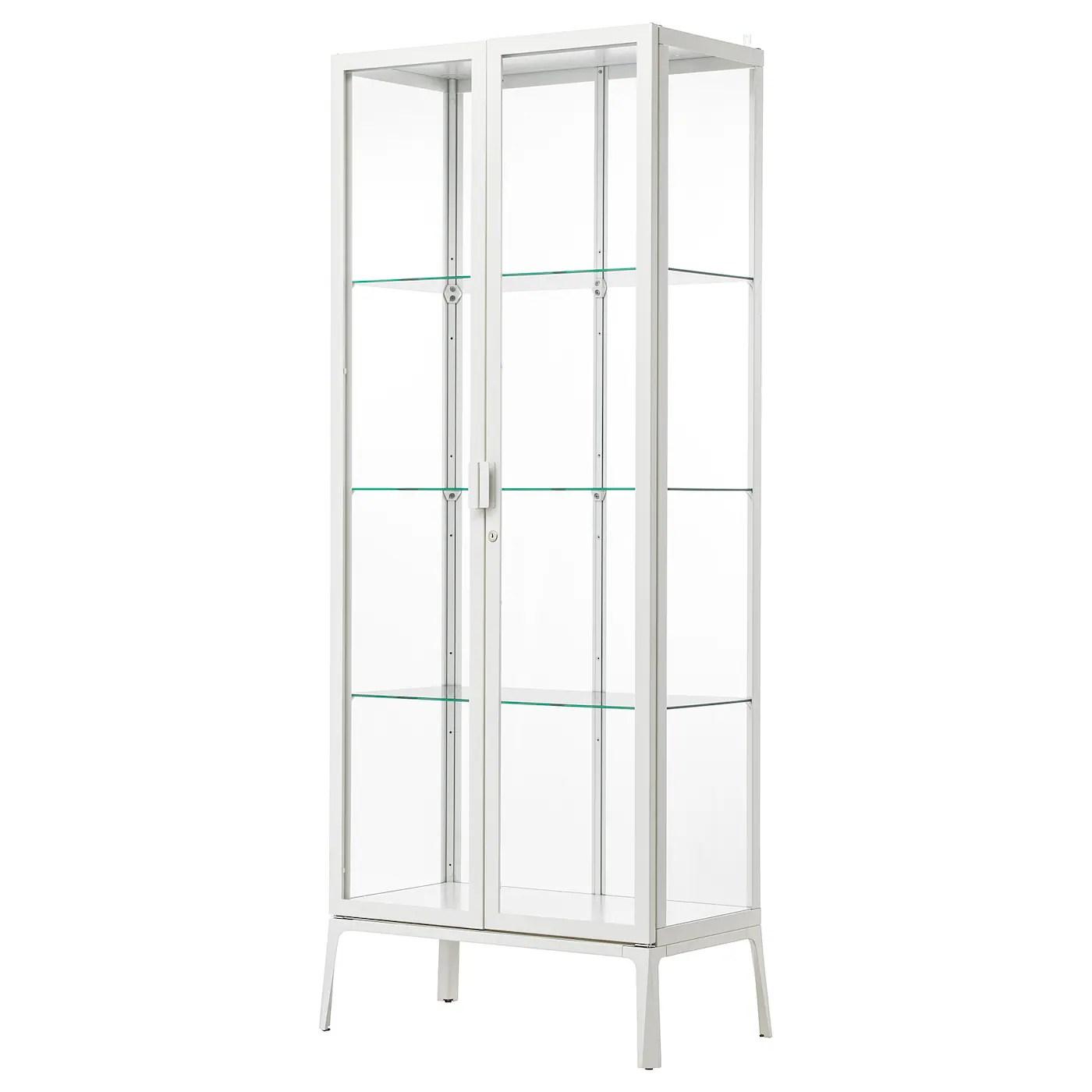 milsbo vitrine blanc 28 3 4x68 7 8 73x175 cm