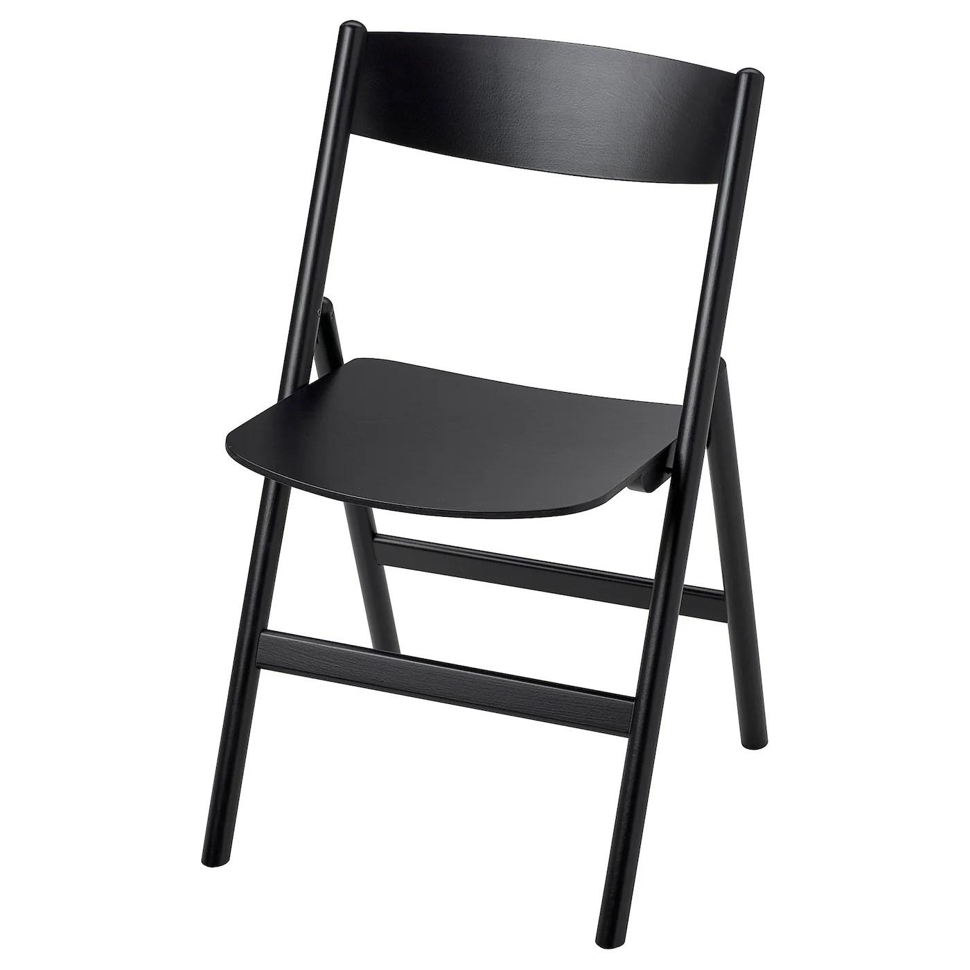 Ravaror Chaise Pliante Noir Ikea