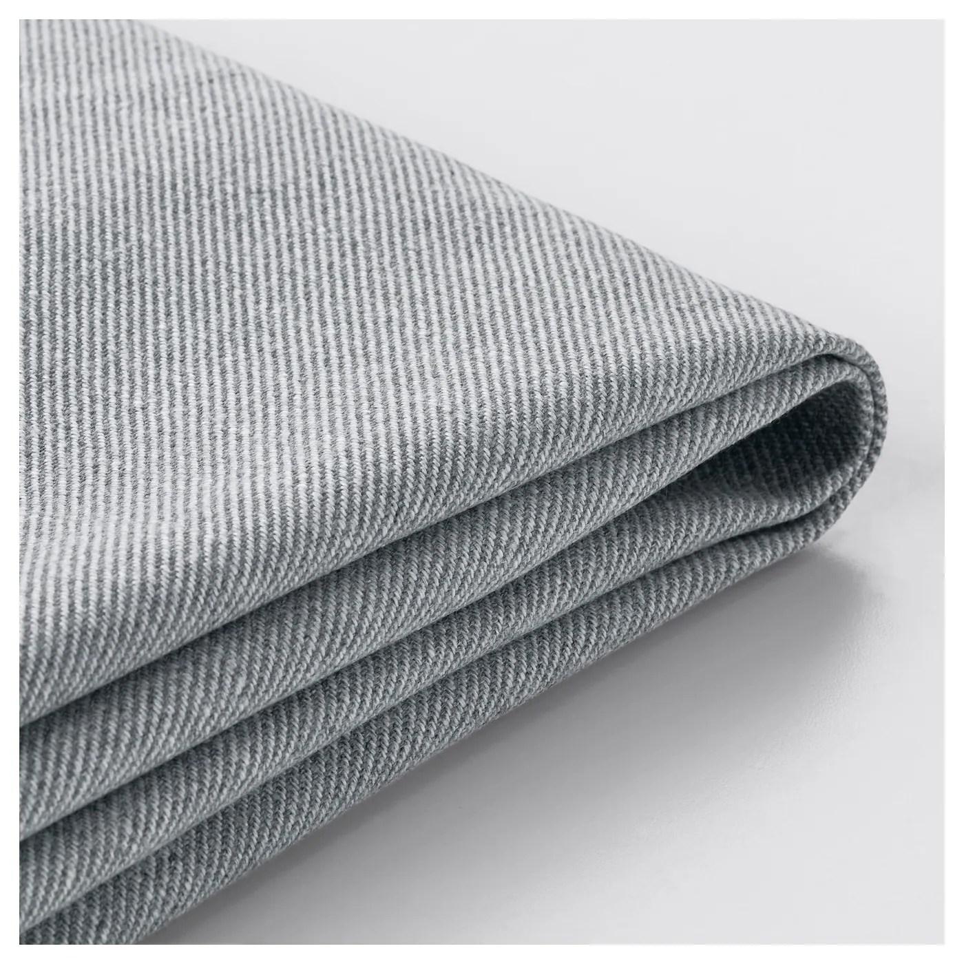 tullsta housse fauteuil nordvalla gris moyen