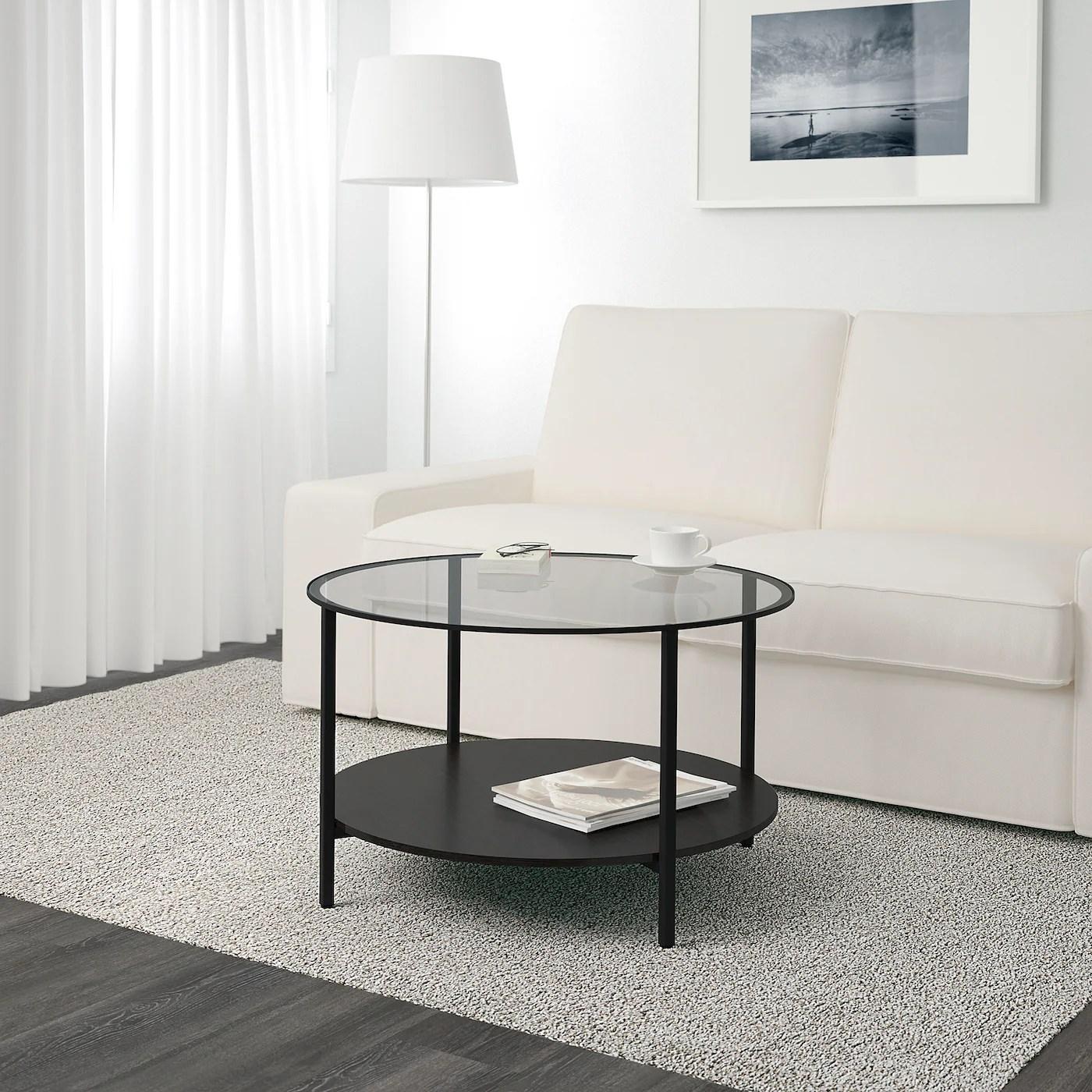 Vittsjo Table Basse Brun Noir Verre 291 2 75 Cm Ikea