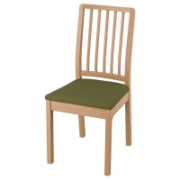 EKEDALEN Stuhl   Eiche/Orrsta olivgrün/schwarz   IKEA Schweiz