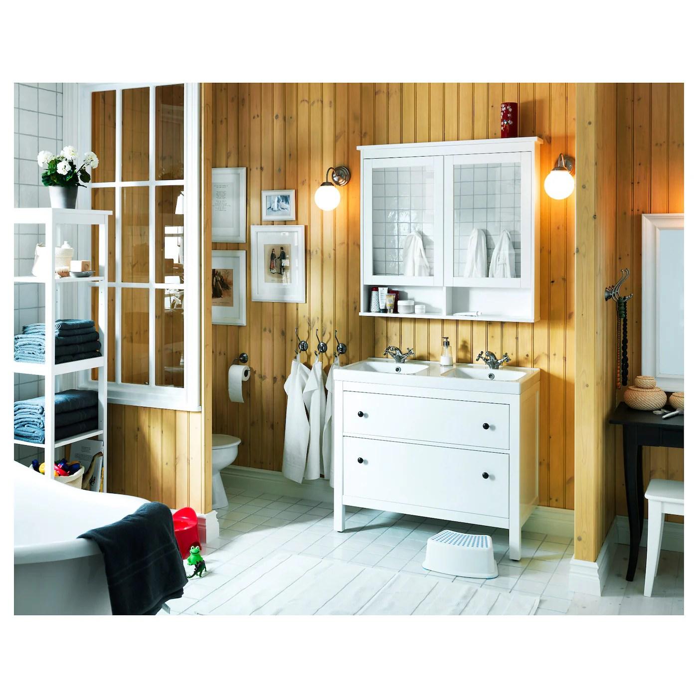 HEMNES Spiegelschrank 2 Türen   weiß   IKEA Schweiz