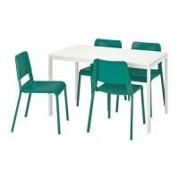 MELLTORP / TEODORES Tisch und 4 Stühle   IKEA
