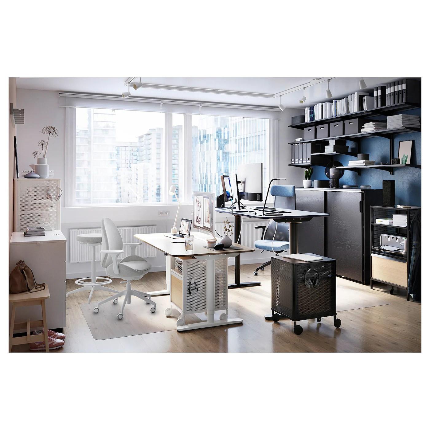 Bekant Rangement Mobile Grillage Noir Ikea Suisse