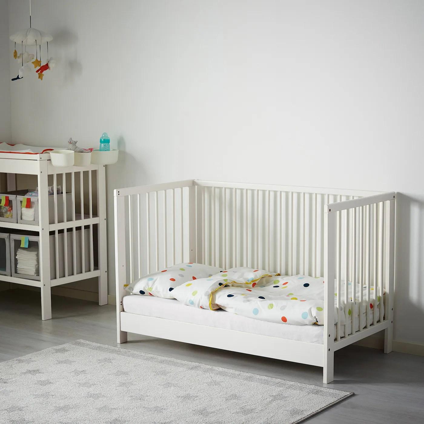 gulliver lit bebe blanc 60x120 cm