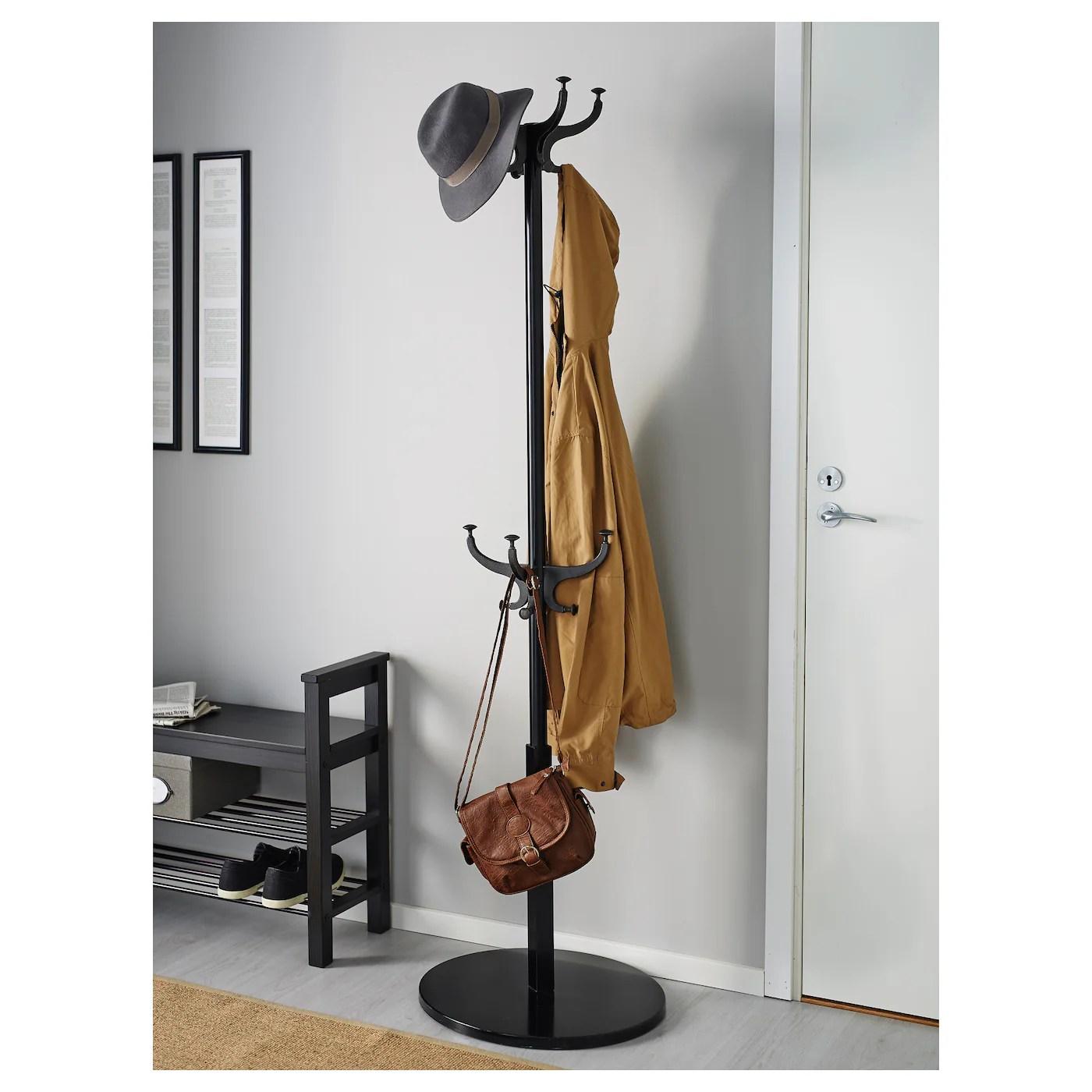 Hemnes Portemanteau Noir 185 Cm Ikea Suisse
