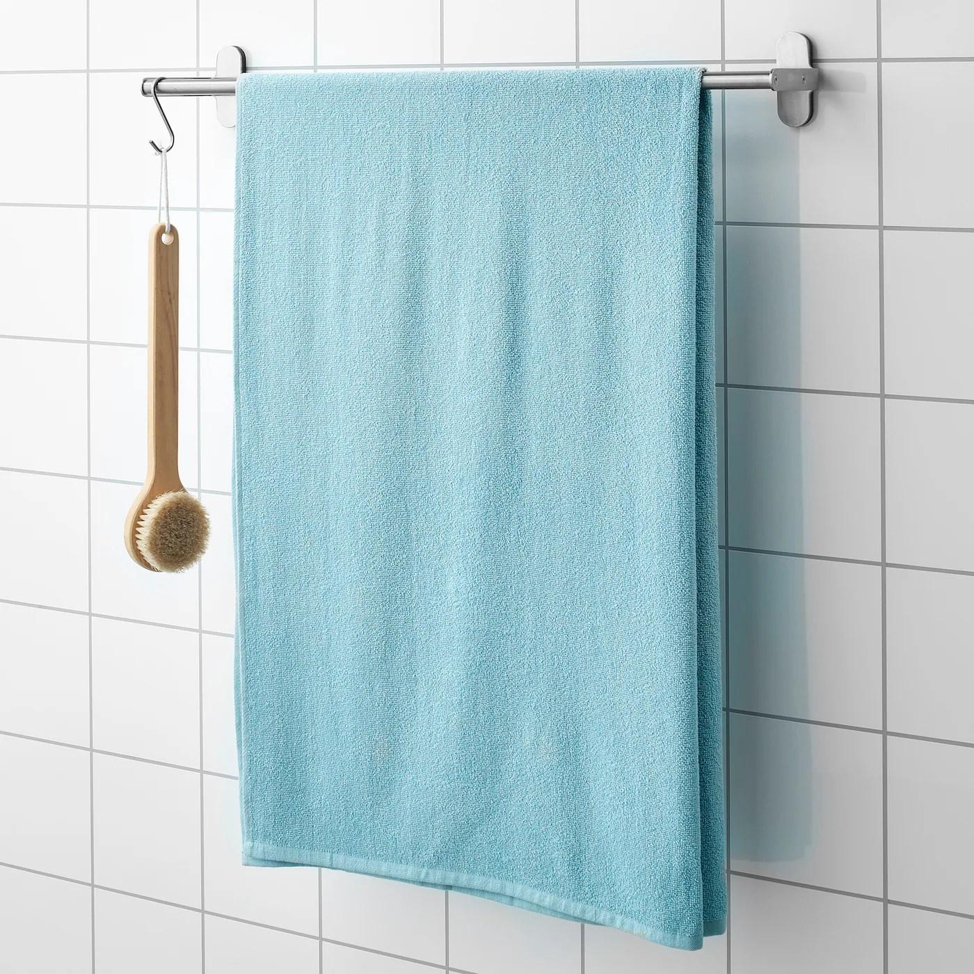 Kornan Drap De Bain Bleu Clair 100x150 Cm Ikea Suisse