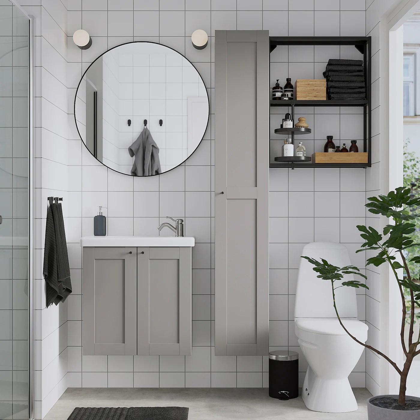 Lindbyn Miroir Noir 80 Cm Ikea Suisse