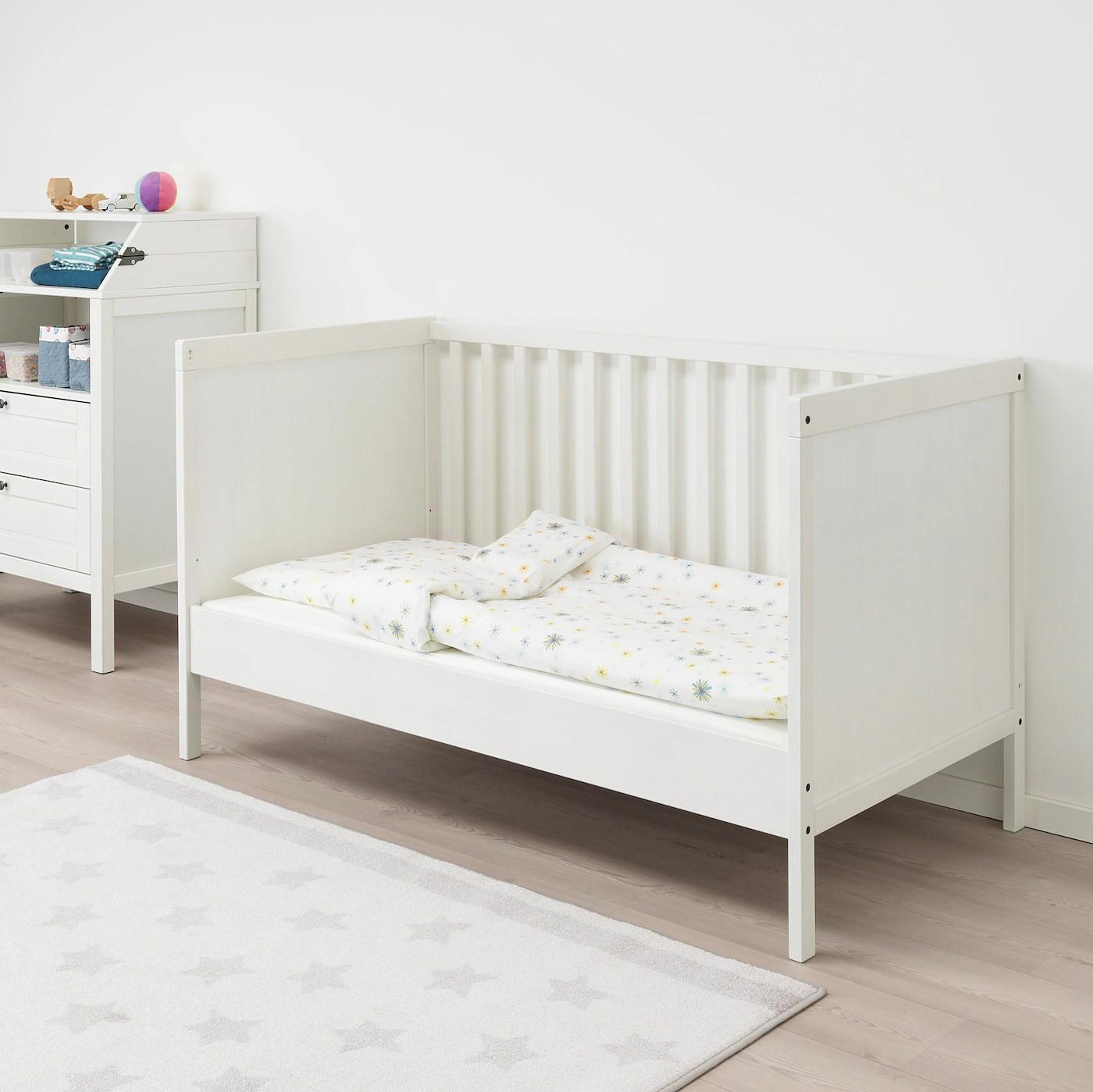 Sundvik Lit Bebe Blanc 70x140 Cm Ikea Suisse