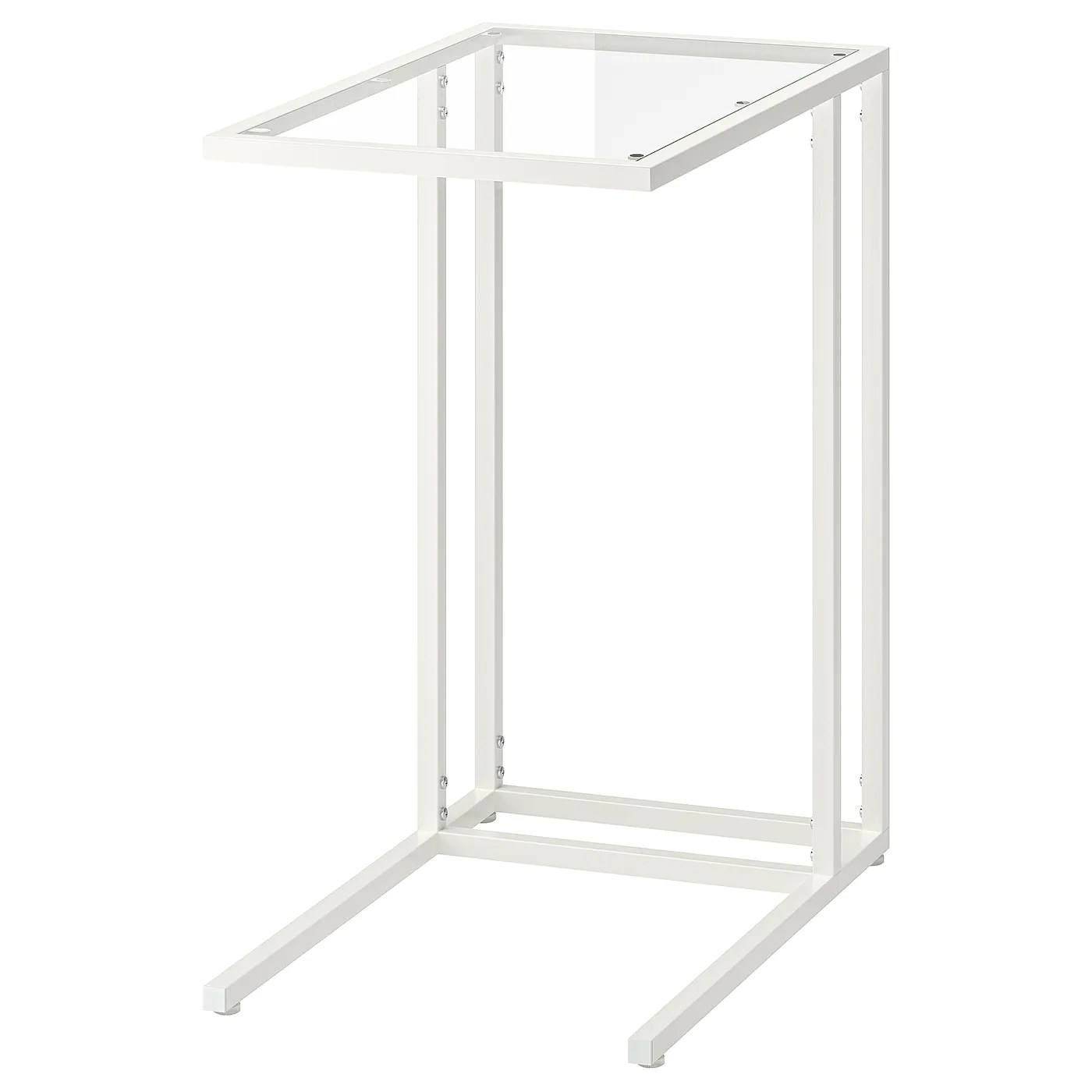 Vittsjo Table Pour Ordinateur Portable Blanc Verre 35x65 Cm Ikea Suisse