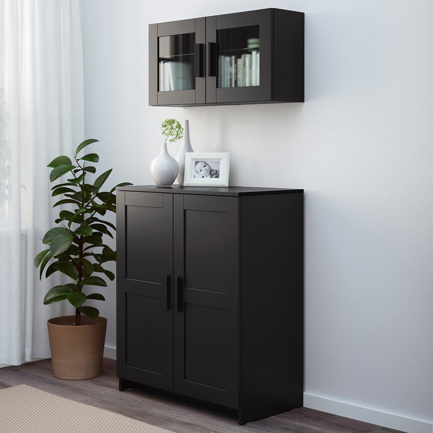 BRIMNES Schrank mit Türen   schwarz   IKEA Deutschland