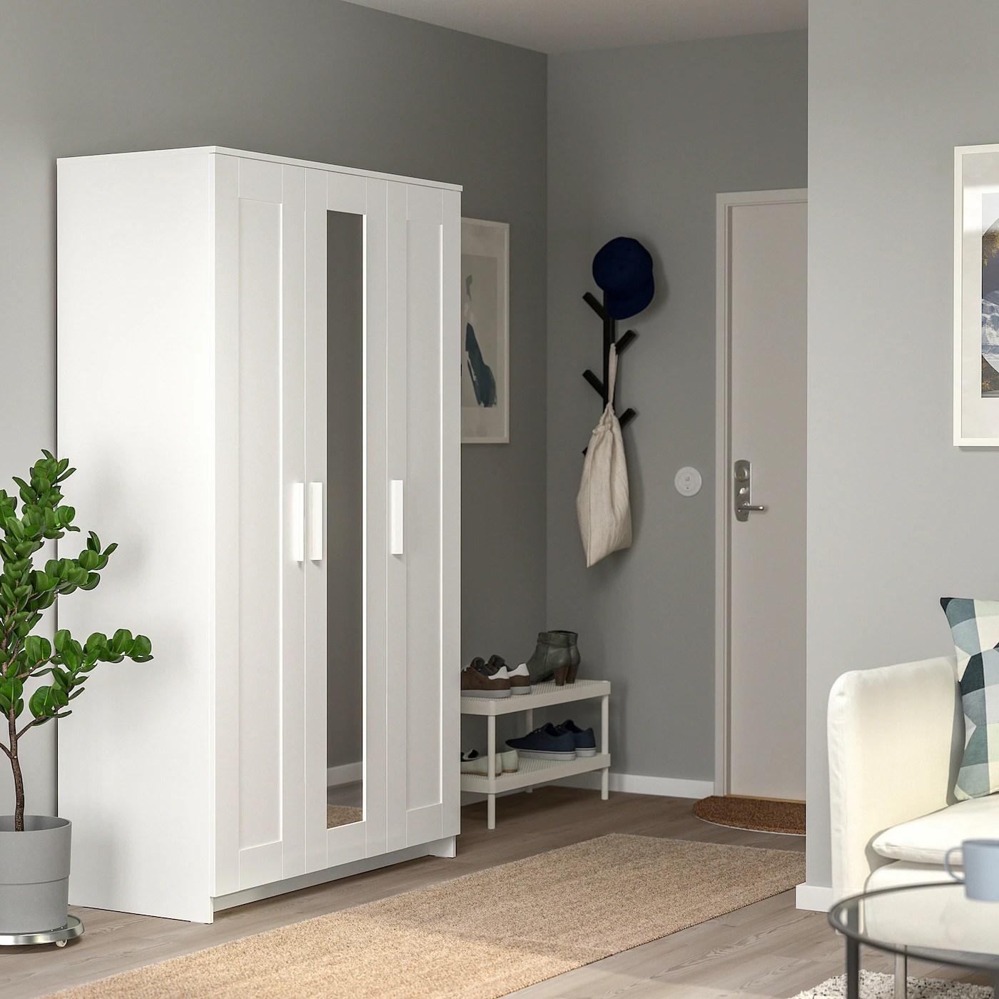 BRIMNES Kleiderschrank 3 türig   weiß   IKEA Deutschland