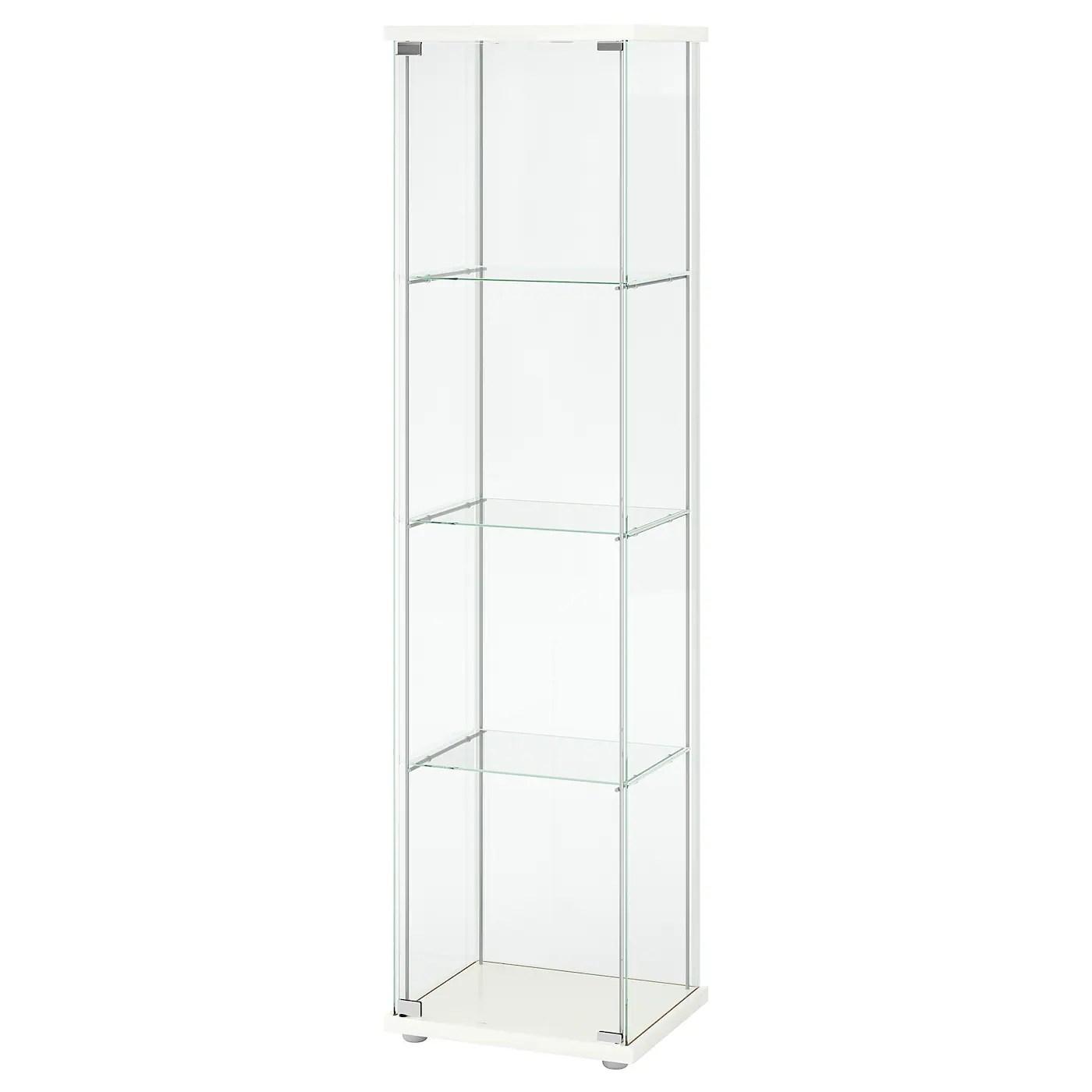 detolf vitrine weiss 43x163 cm