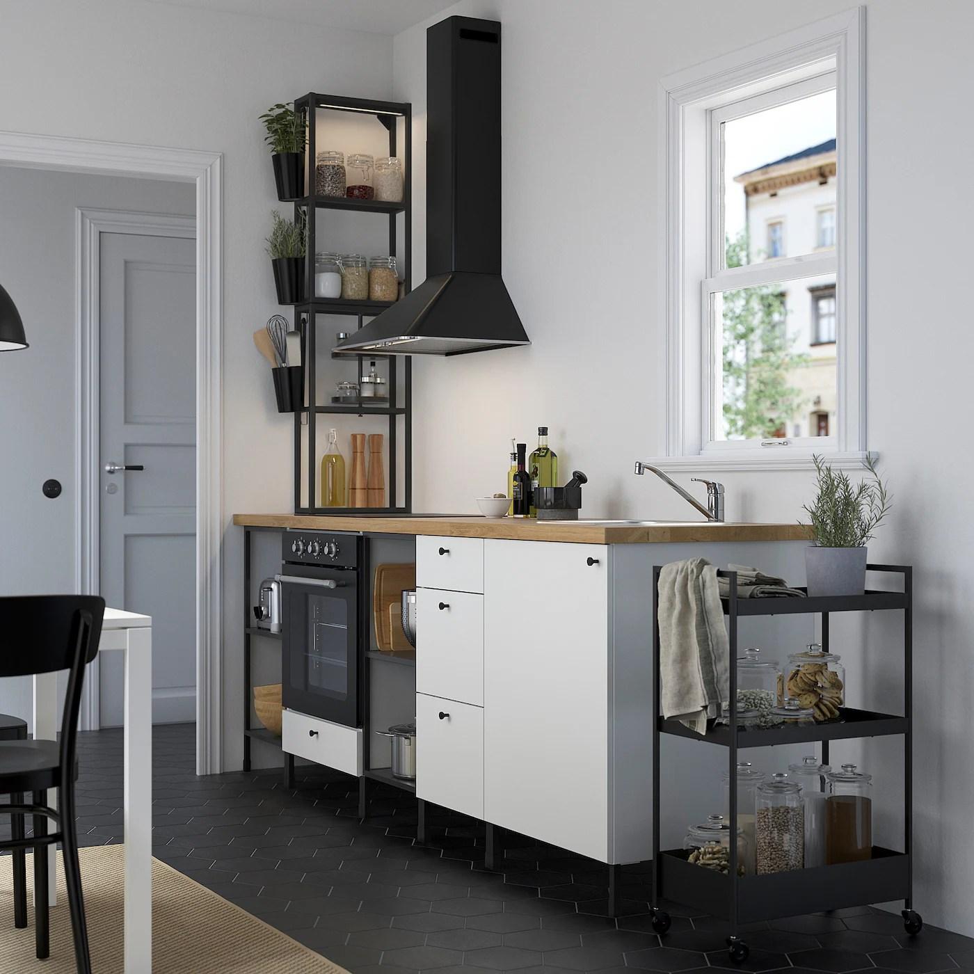 ENHET Küche   anthrazit, weiß   IKEA Deutschland