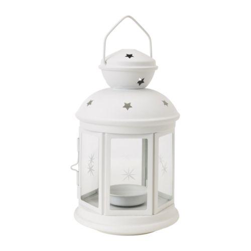ROTERA Laterne für Teelicht IKEA Für drinnen und draußen geeignet.