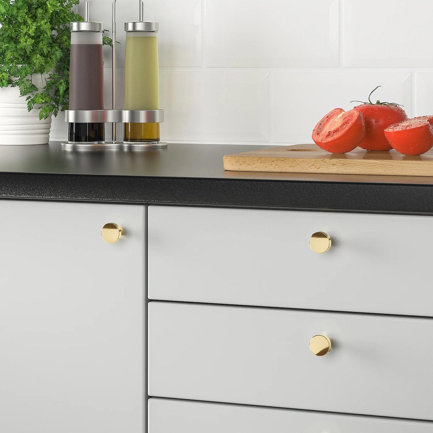 Bagganas Knop Messingfarvet 21 Mm Ikea