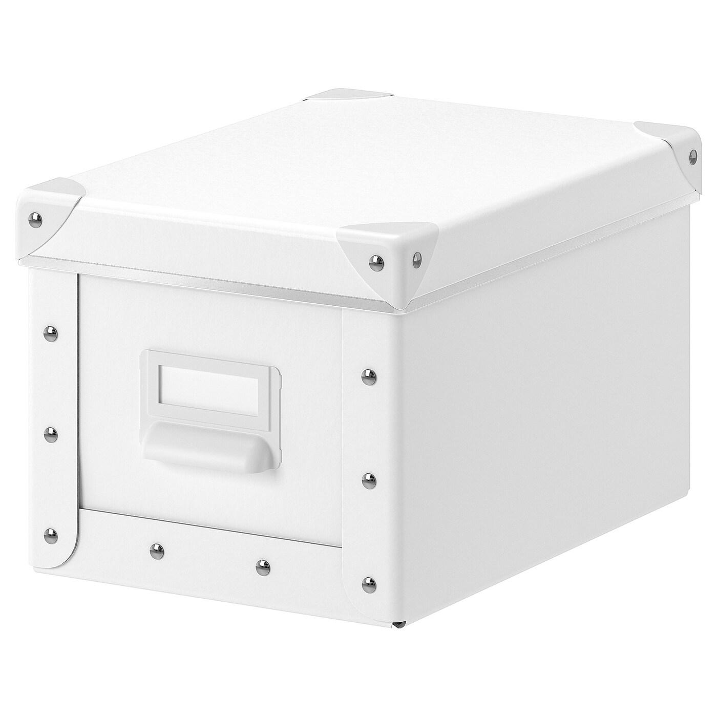 Fjalla Opbevaringskasse Med Lag Hvid 18x26x15 Cm Ikea