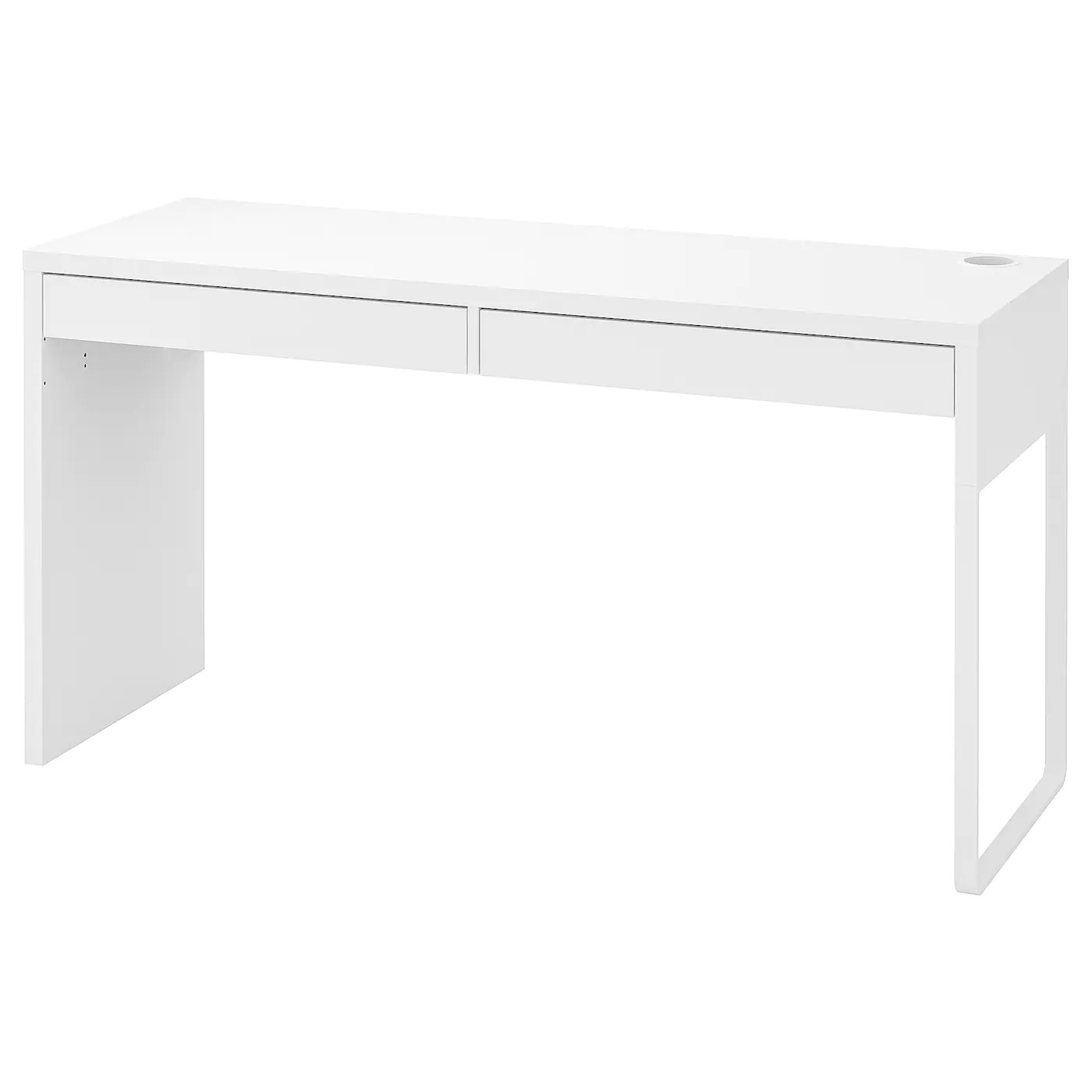 Micke Skrivebord Hvid 142x50 Cm Ikea