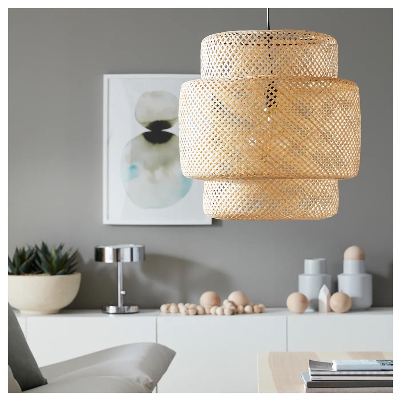 Sinnerlig Loftlampe Bambus Ikea