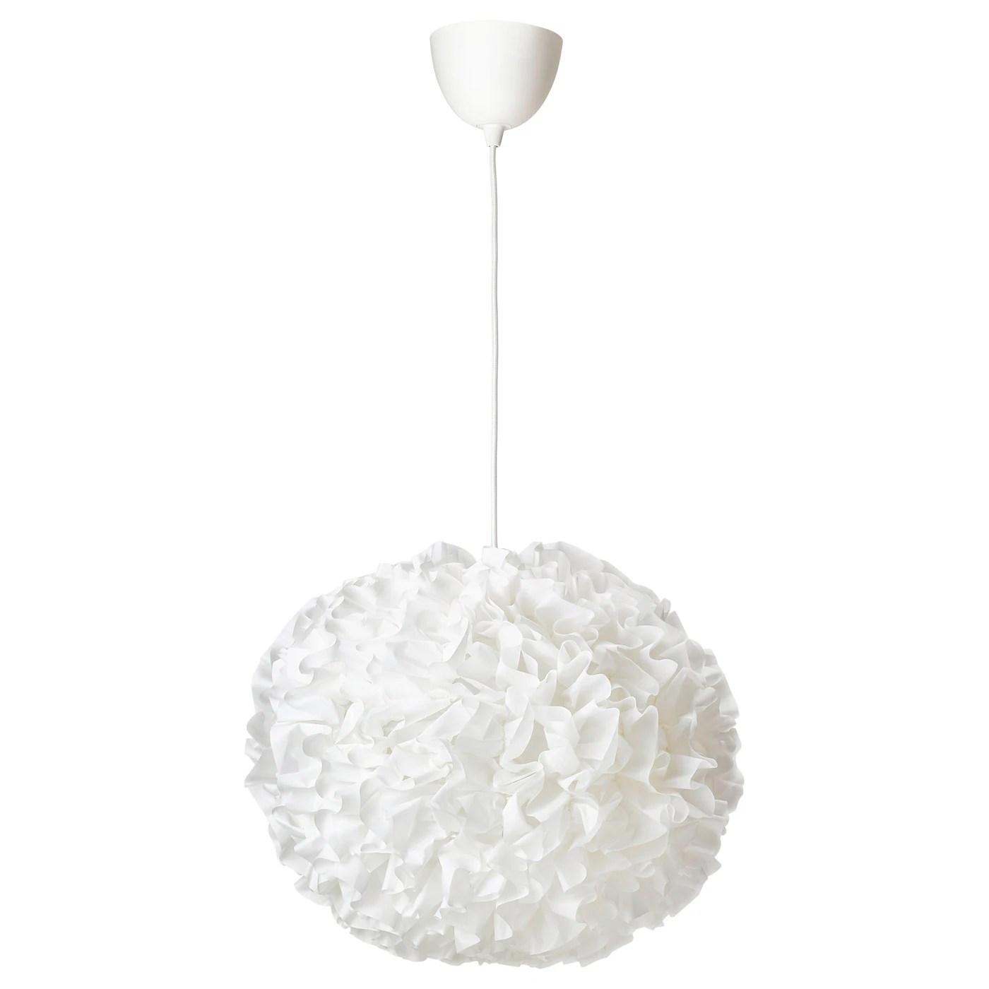 Vindkast Loftlampe Hvid Ikea