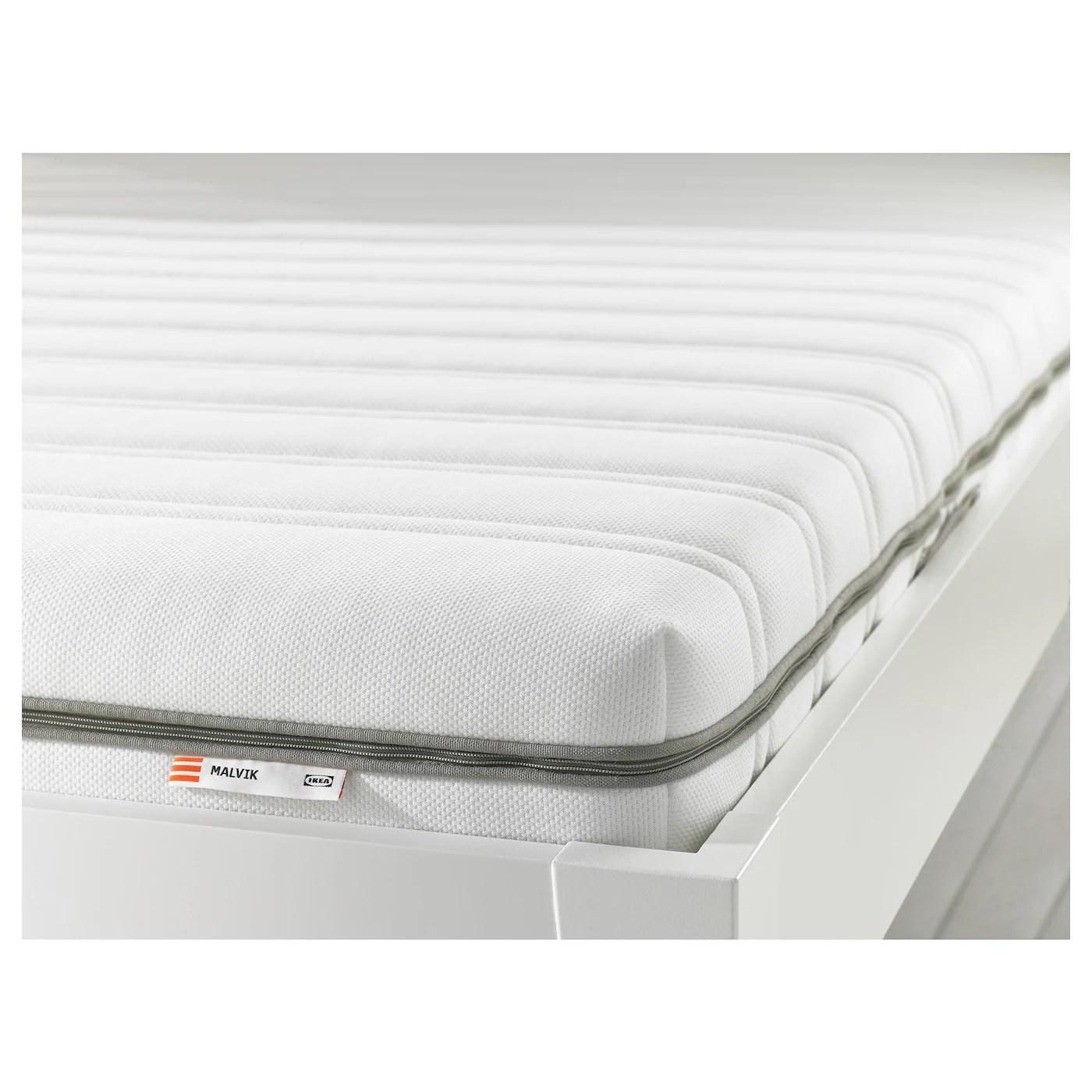 Malvik Foam Mattress Firm White 80x200 Cm Ikea
