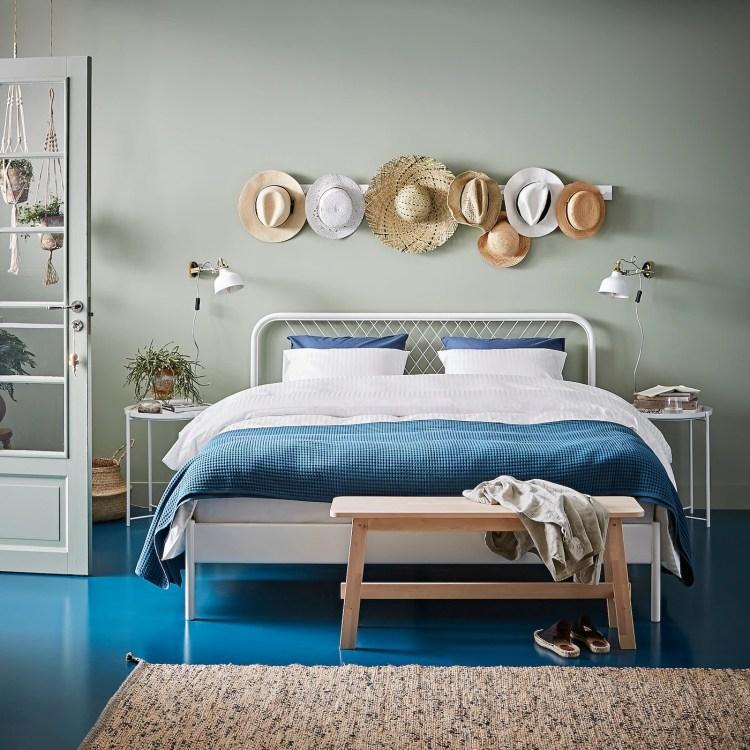 NESTTUN - Estructura cama, blanco/Luröy160x200 cm 169€ de Ikea