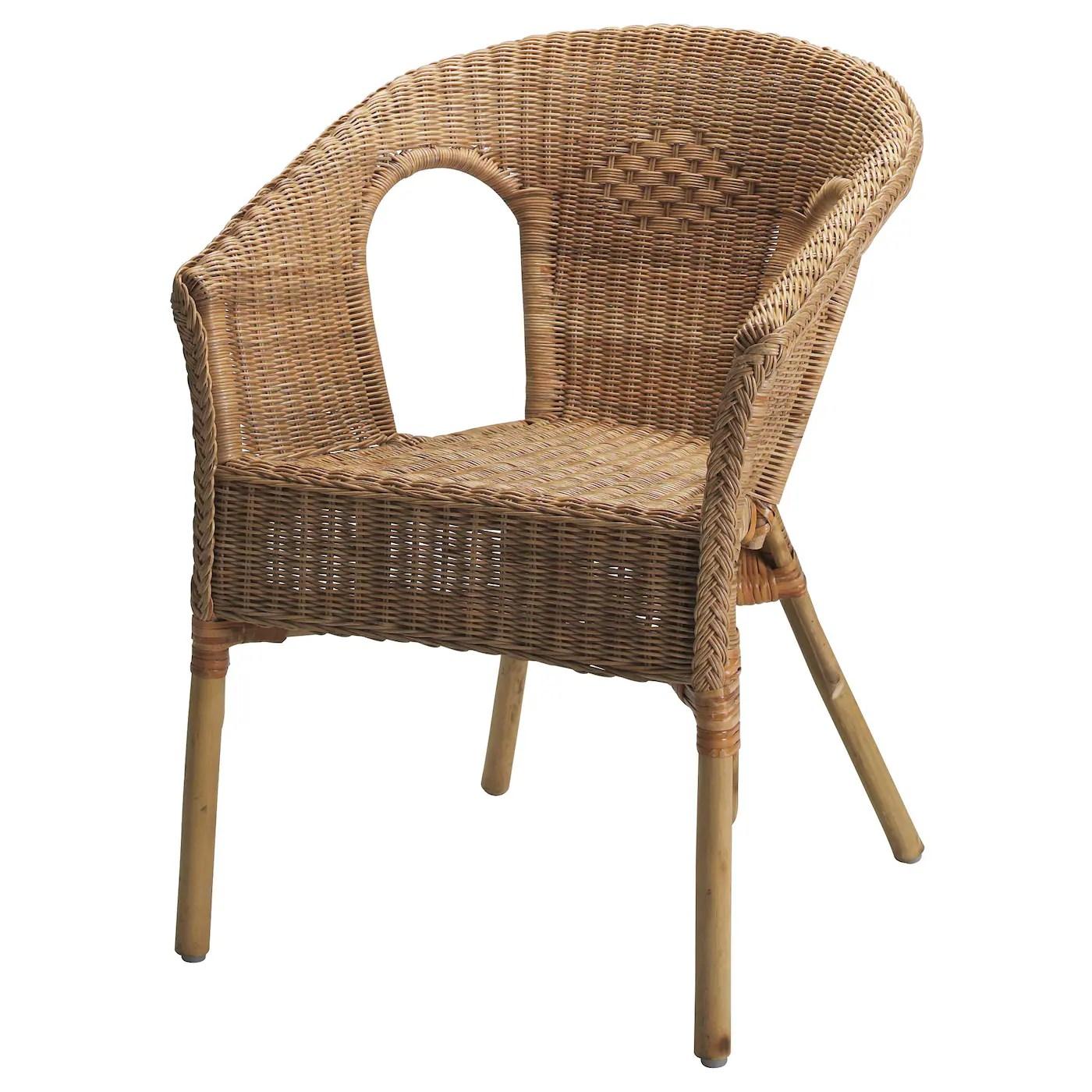 Agen Fauteuil Rotin Bambou Materiau Durable Ikea