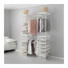 ALGOT Structure+barre/corb filet/tabl sup IKEA