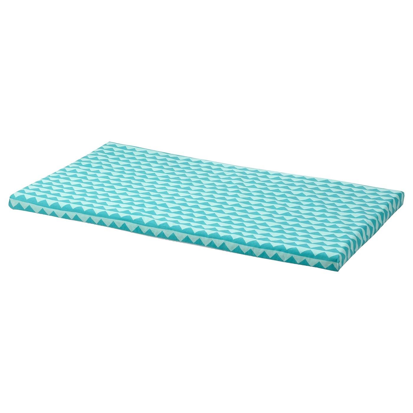 Bankkamrat Coussin Pour Banquette Turquoise 90x50x3 Cm Ikea