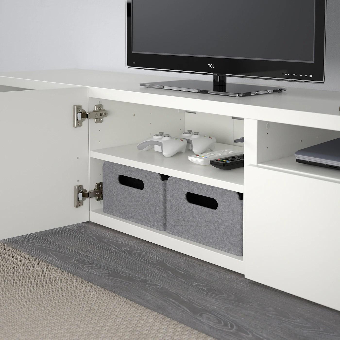 besta banc tv blanc lappviken blanc 180x42x39 cm