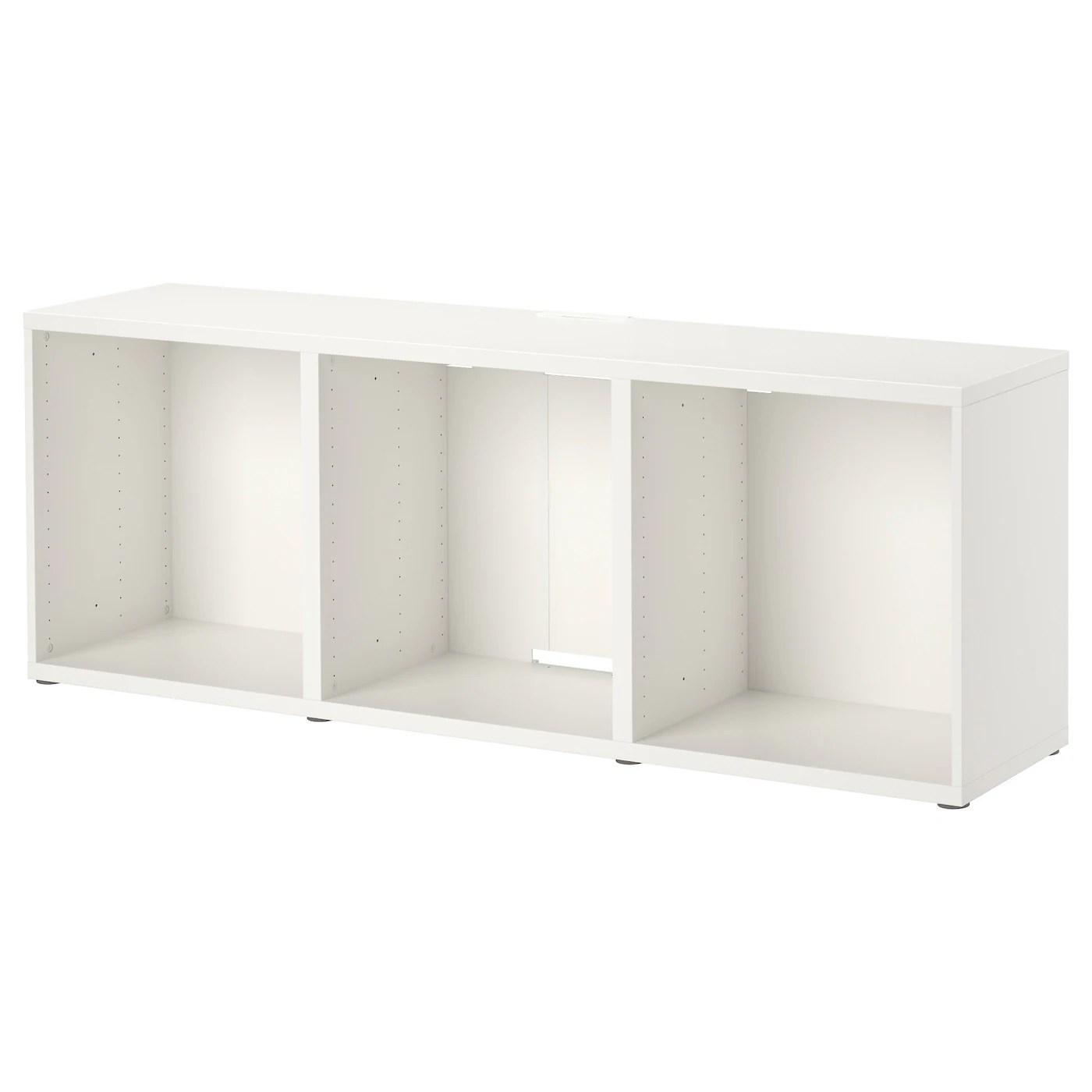 besta banc tv blanc 180x40x64 cm