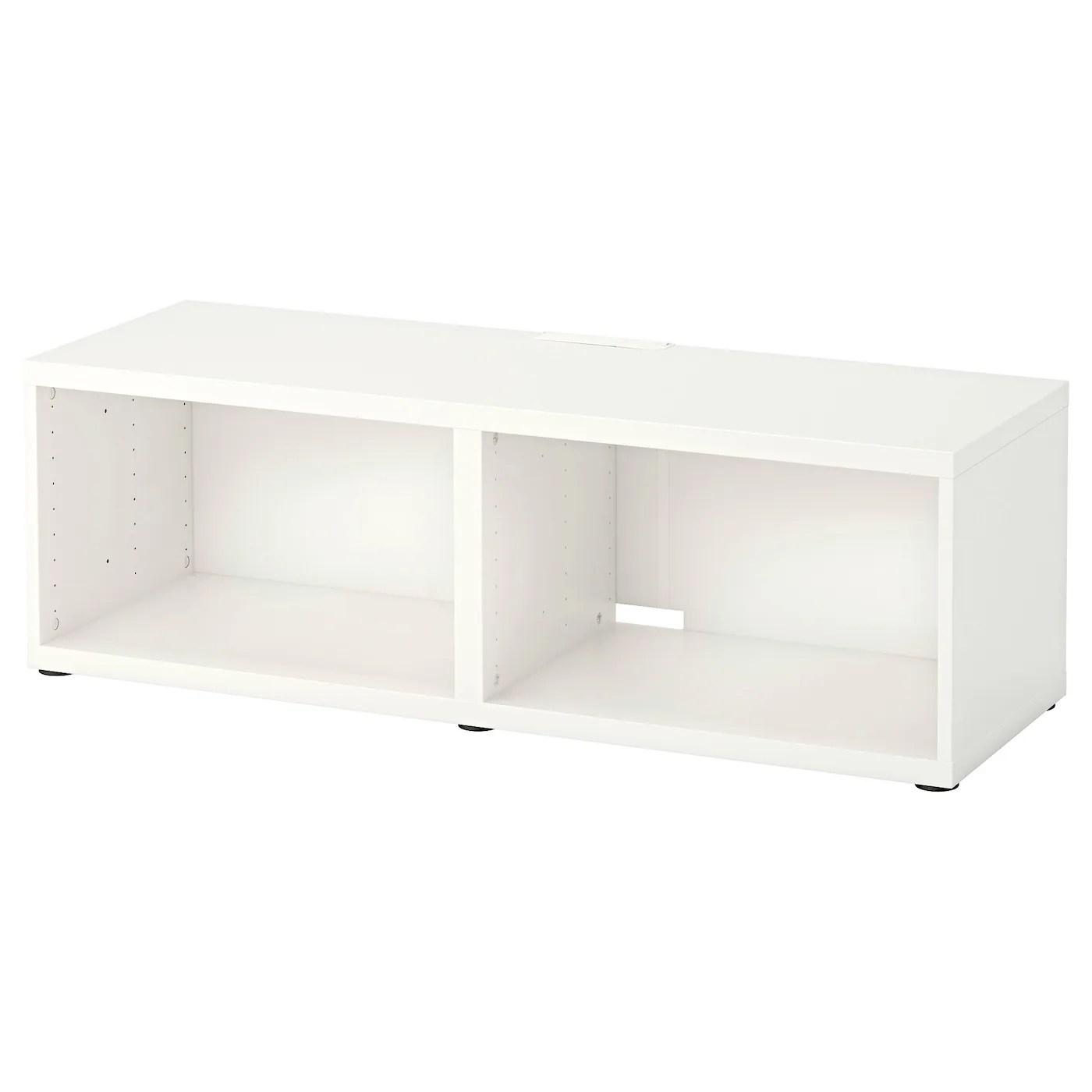 Besta Banc Tv Blanc 120x40x38 Cm Ikea