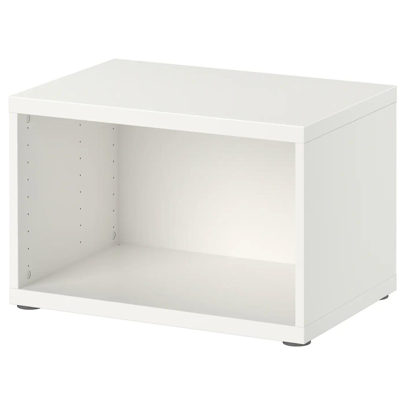 besta structure blanc 60x40x38 cm