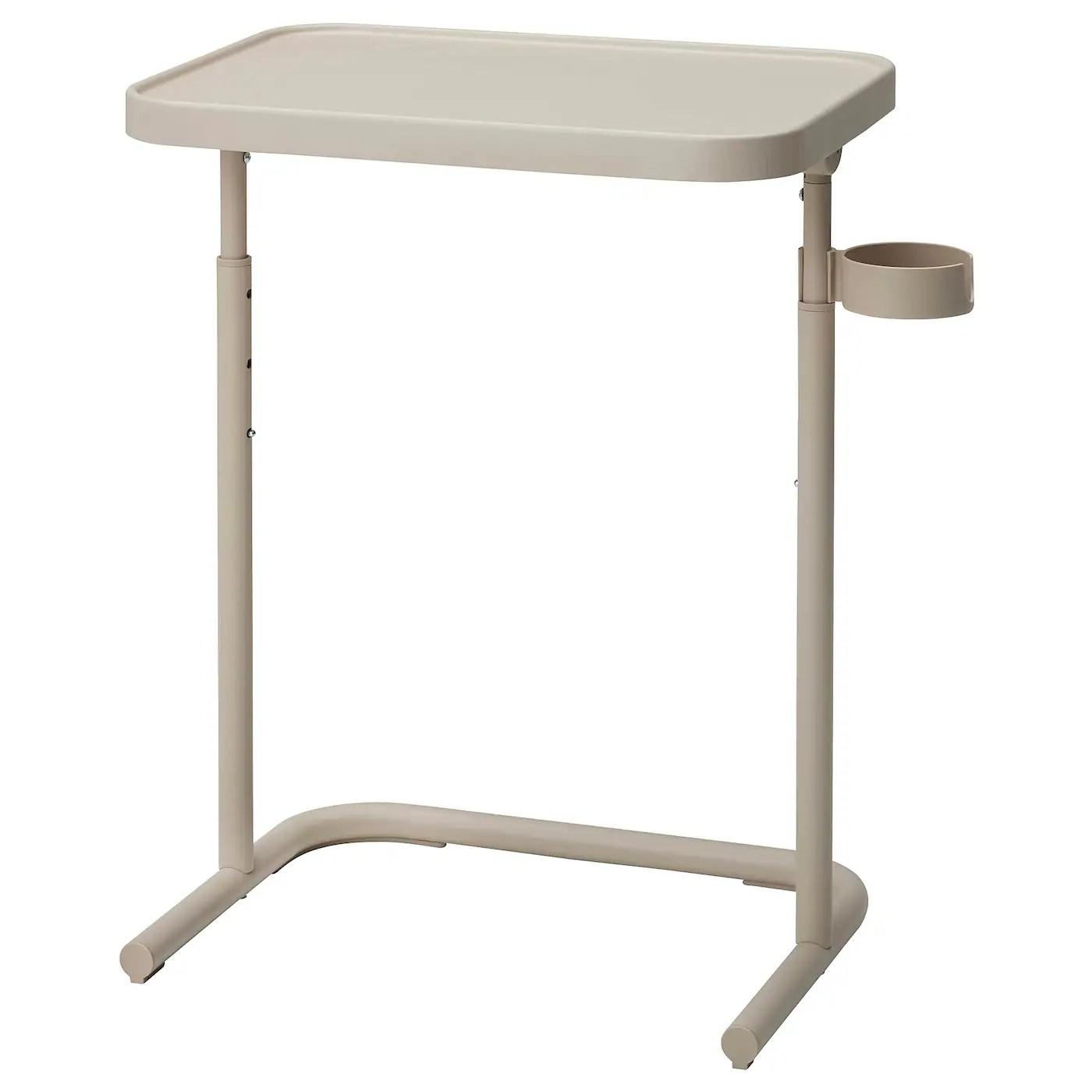 Bjorkasen Table Pour Ordinateur Portable Beige Ikea