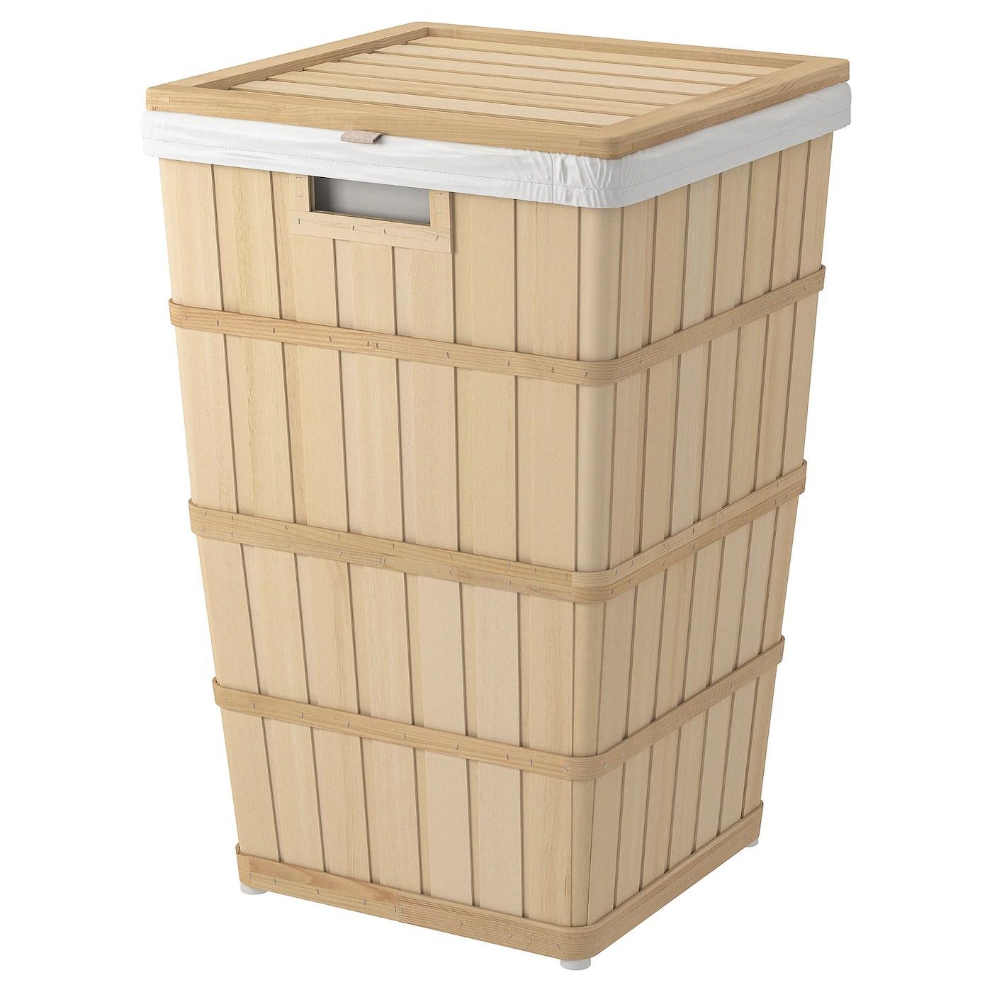 Brankis Panier A Linge Materiau Durable Ikea
