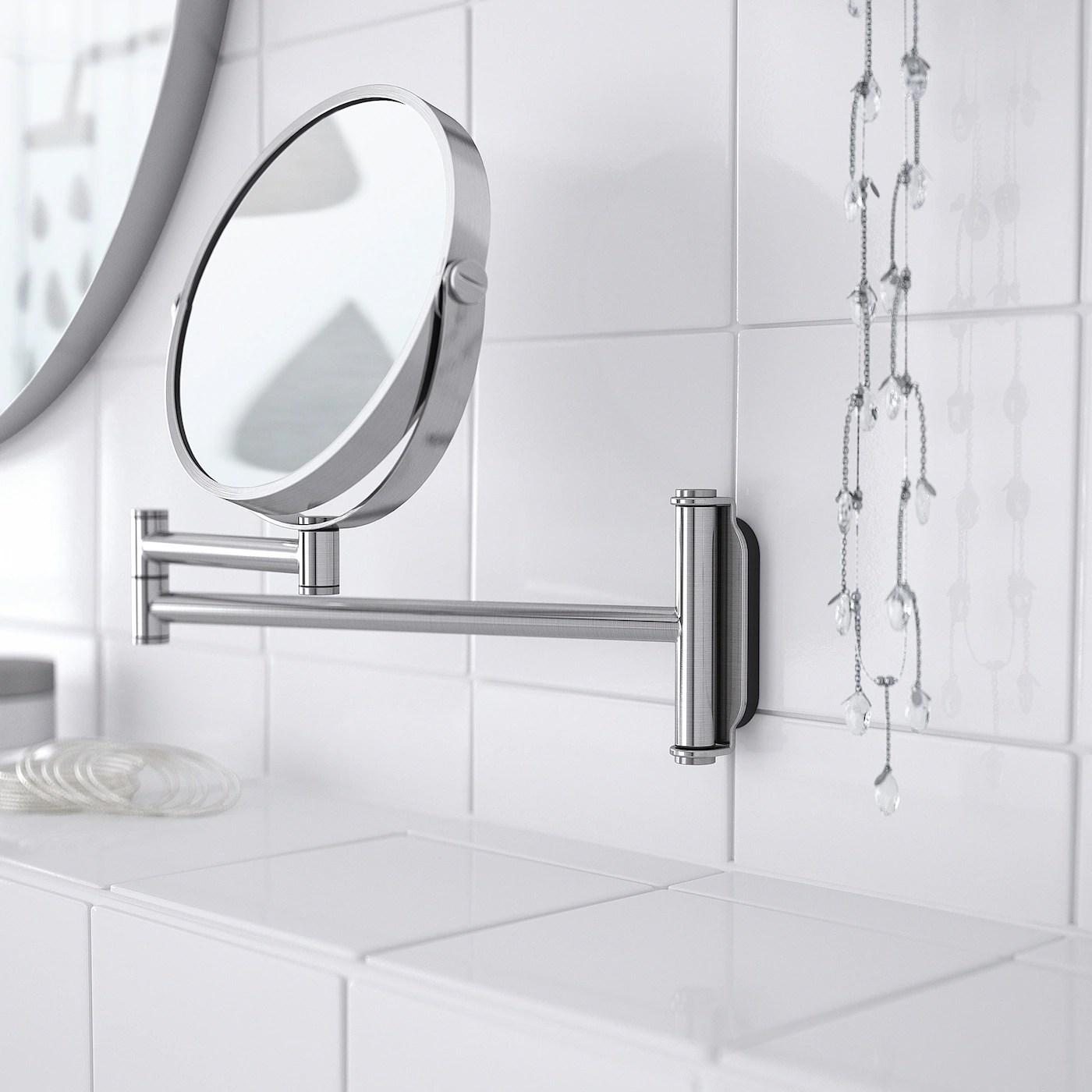 Brogrund Miroir Acier Inoxydable 3x27 Cm Sans Plomb Ikea