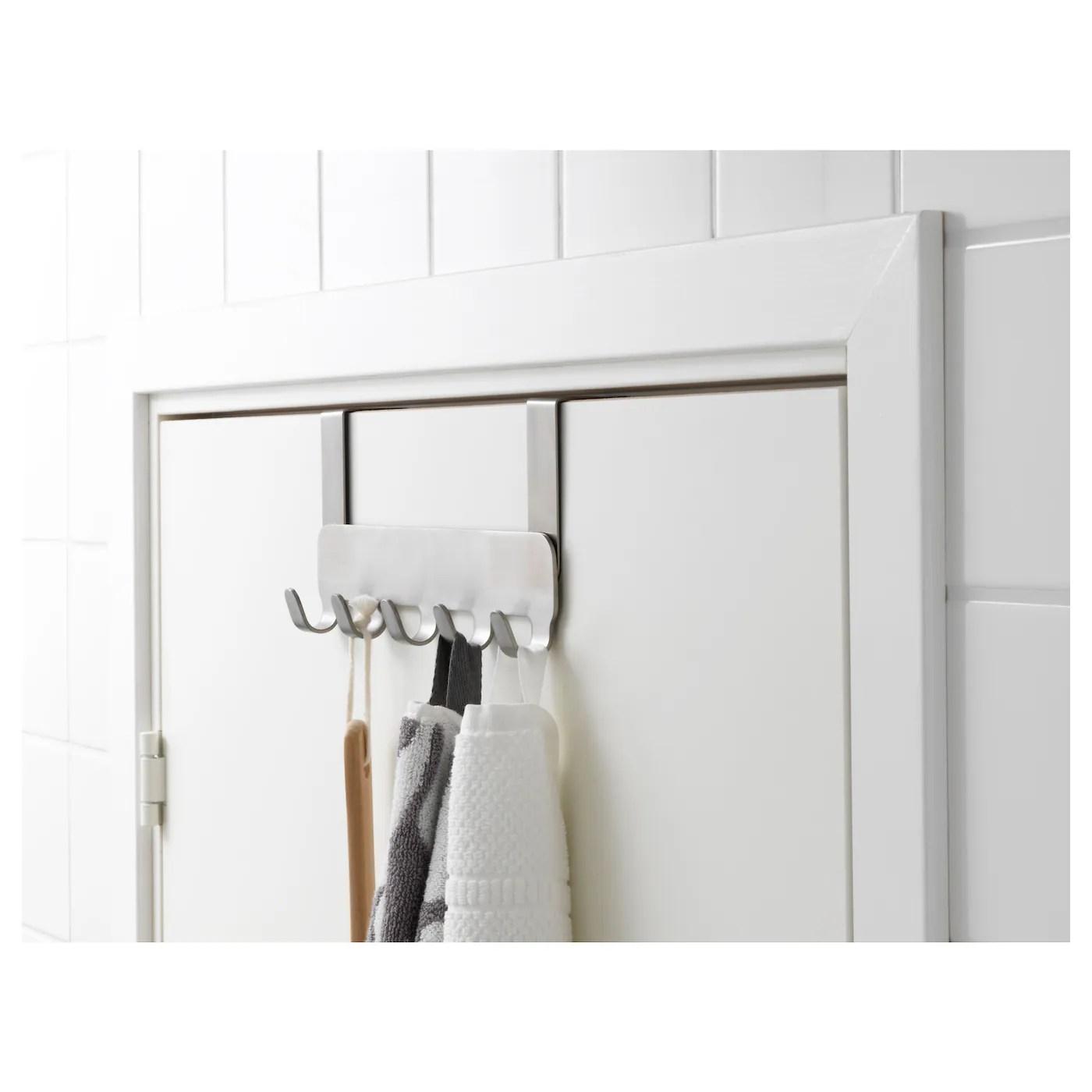 Brogrund Patere Pour Porte Acier Inoxydable Ikea