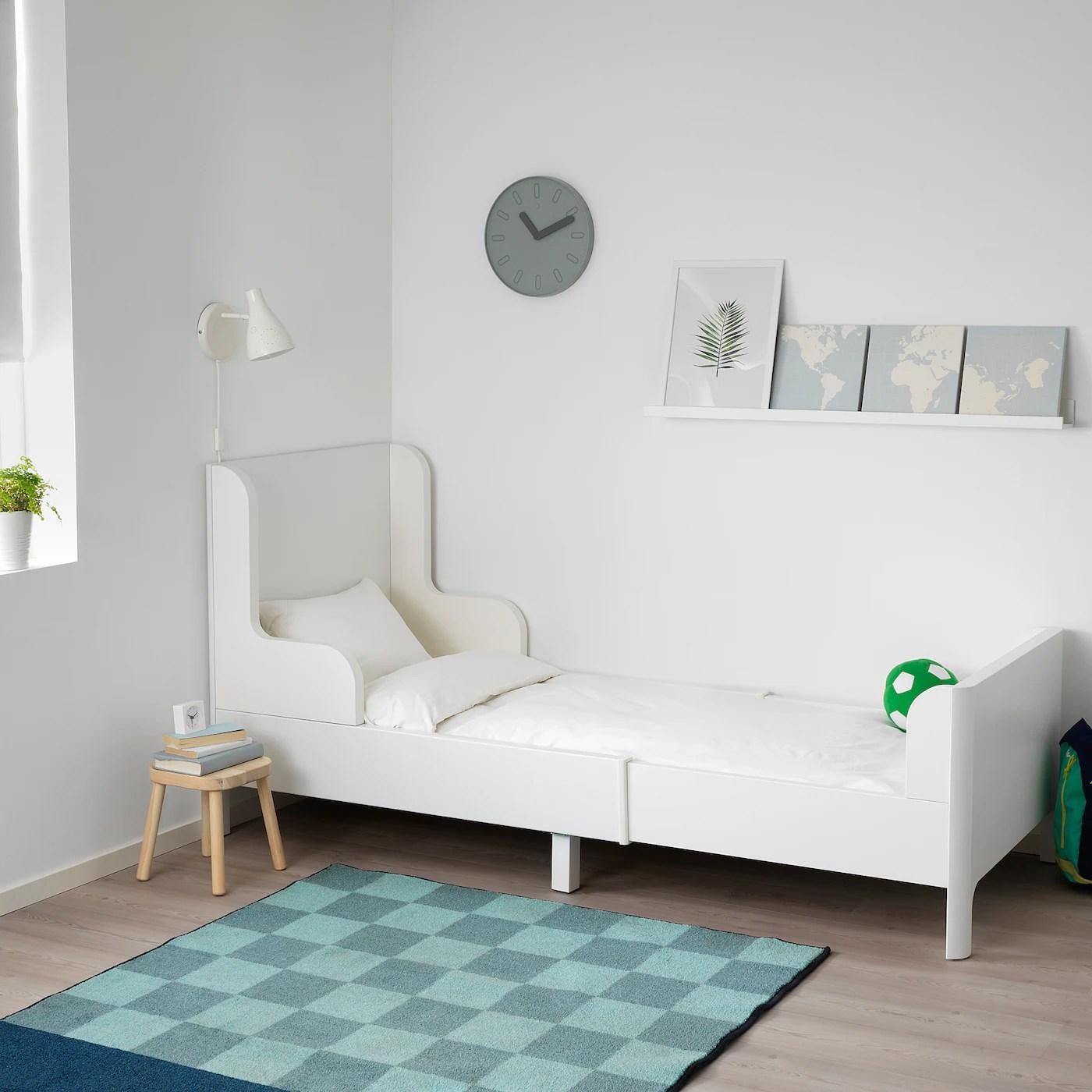 Busunge Lit Extensible Blanc 80x200 Cm Ikea