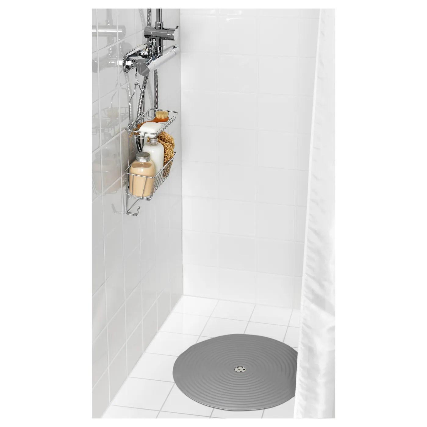 doppa tapis de douche gris fonce 46 cm