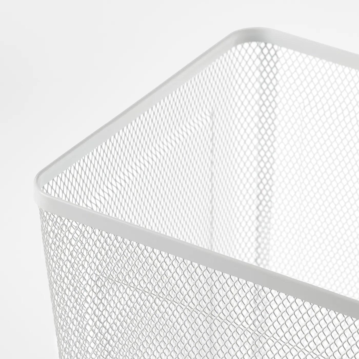 dronjons corbeille a papier blanc
