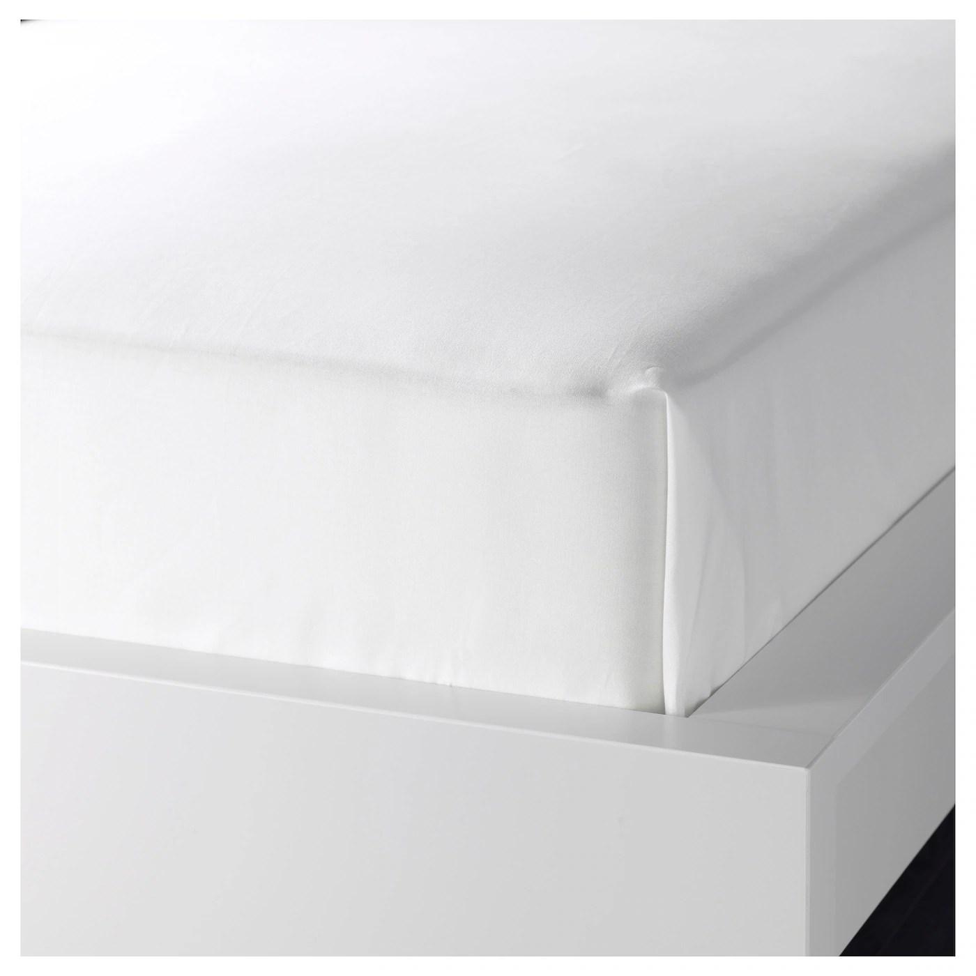 Dvala Drap Blanc 240x260 Cm Materiau Durable Ikea