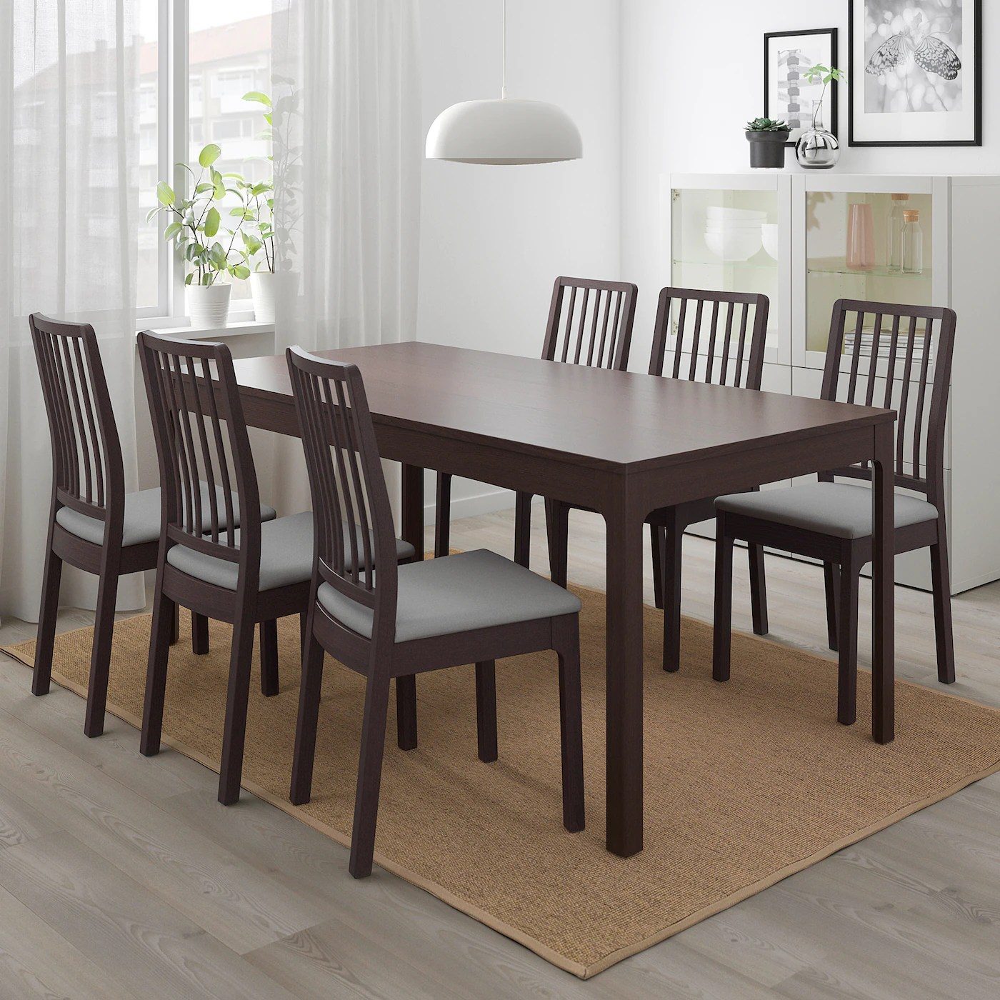 Ekedalen Table Extensible Brun Fonce 180 240x90 Cm Ikea