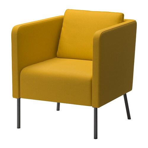 EKERÖ Fauteuil - Skiftebo jaune - IKEA