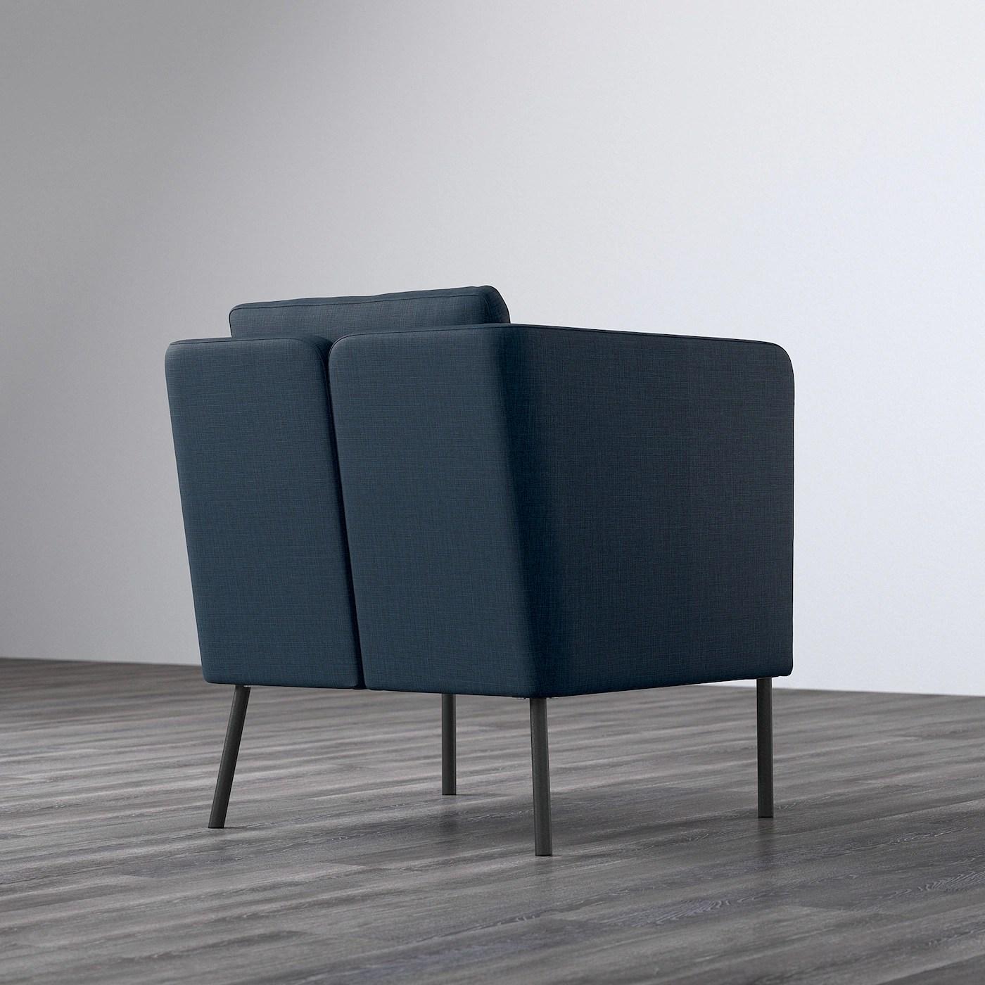 ekero fauteuil skiftebo bleu fonce