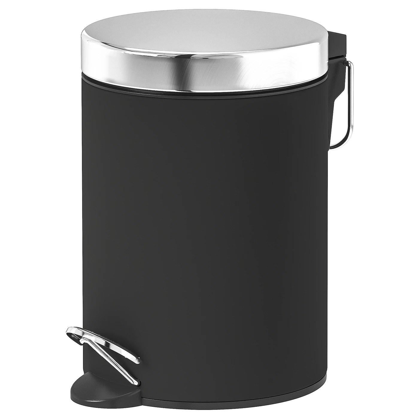Ekoln Poubelle Gris Fonce Ikea
